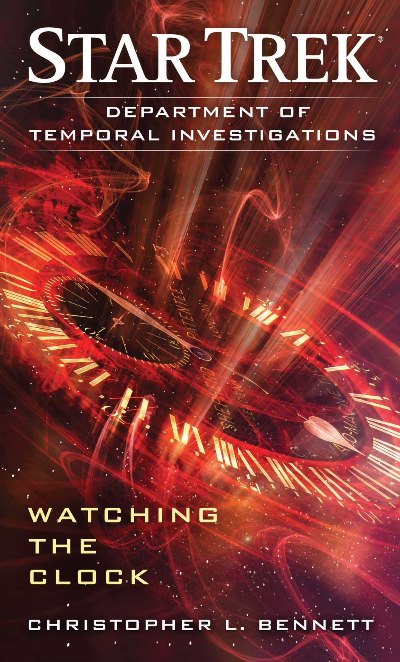 Star trek department of temporal investigations watching the clock 9781451606294 hr