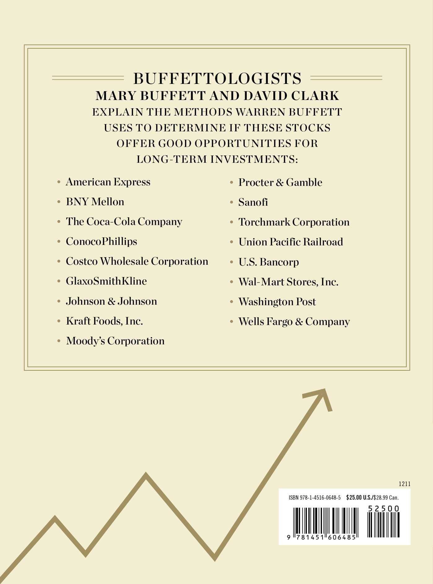 The warren buffett stock portfolio 9781451606485 hr back
