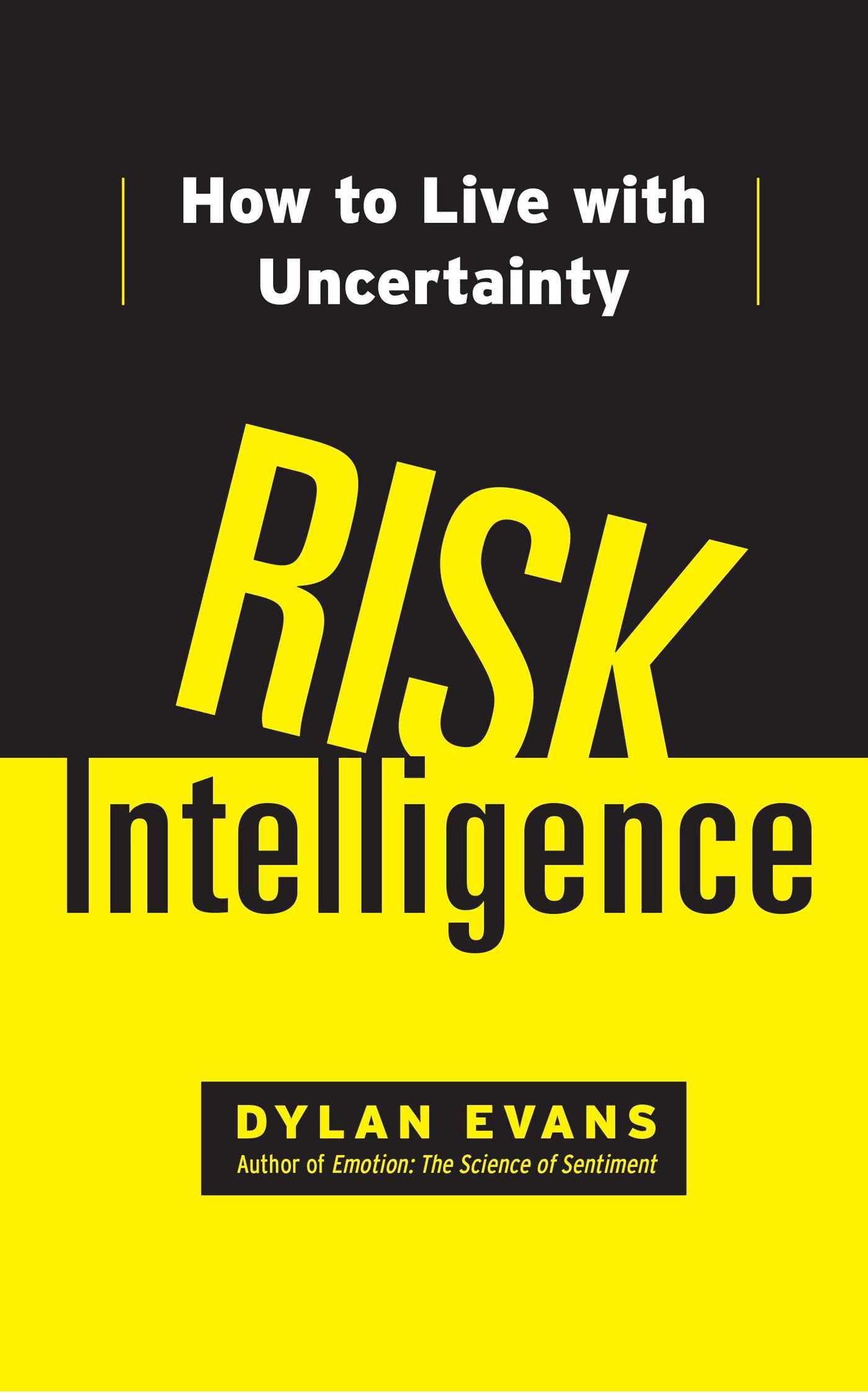 Risk intelligence 9781451610918 hr