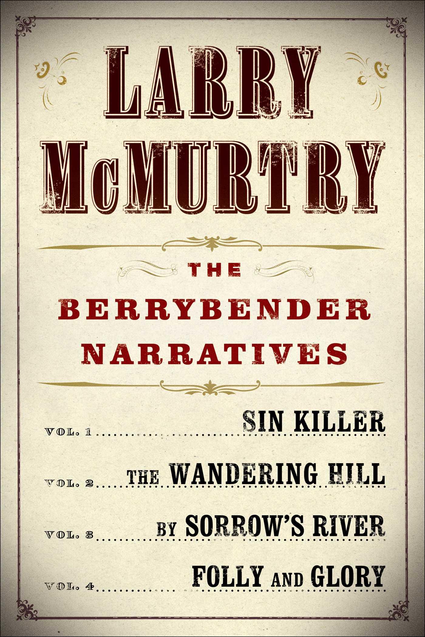 Larry mcmurtrys berrybender narratives 9781451611786 hr