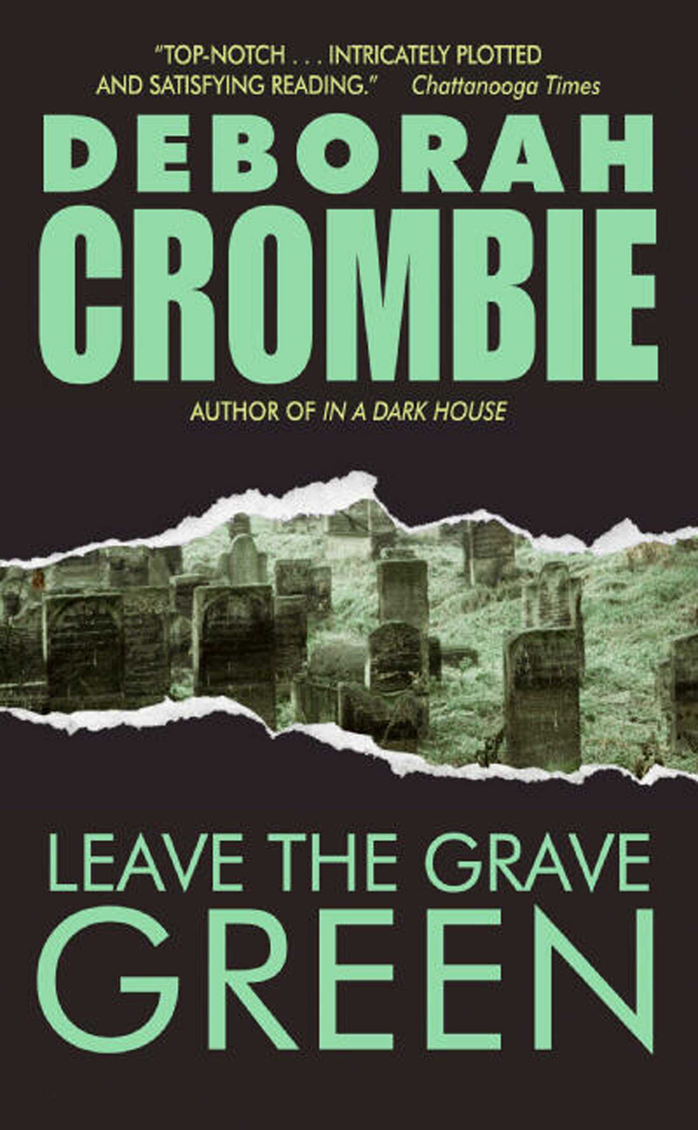 Leave the grave green 9781451617641 hr