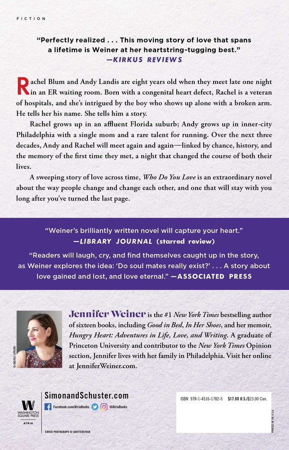 Who Do You Love | Book by Jennifer Weiner | Official Publisher Page