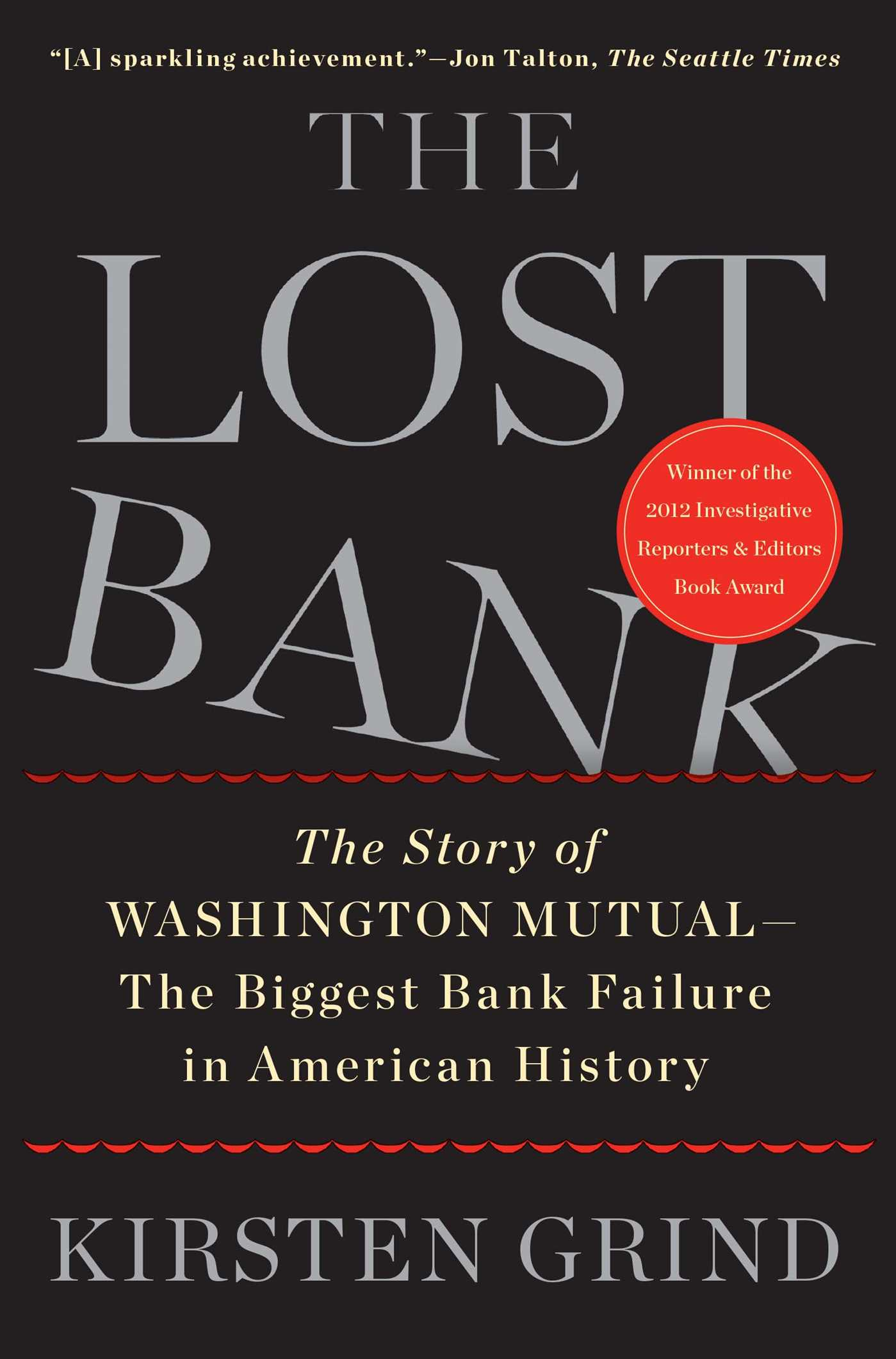 The lost bank 9781451617931 hr