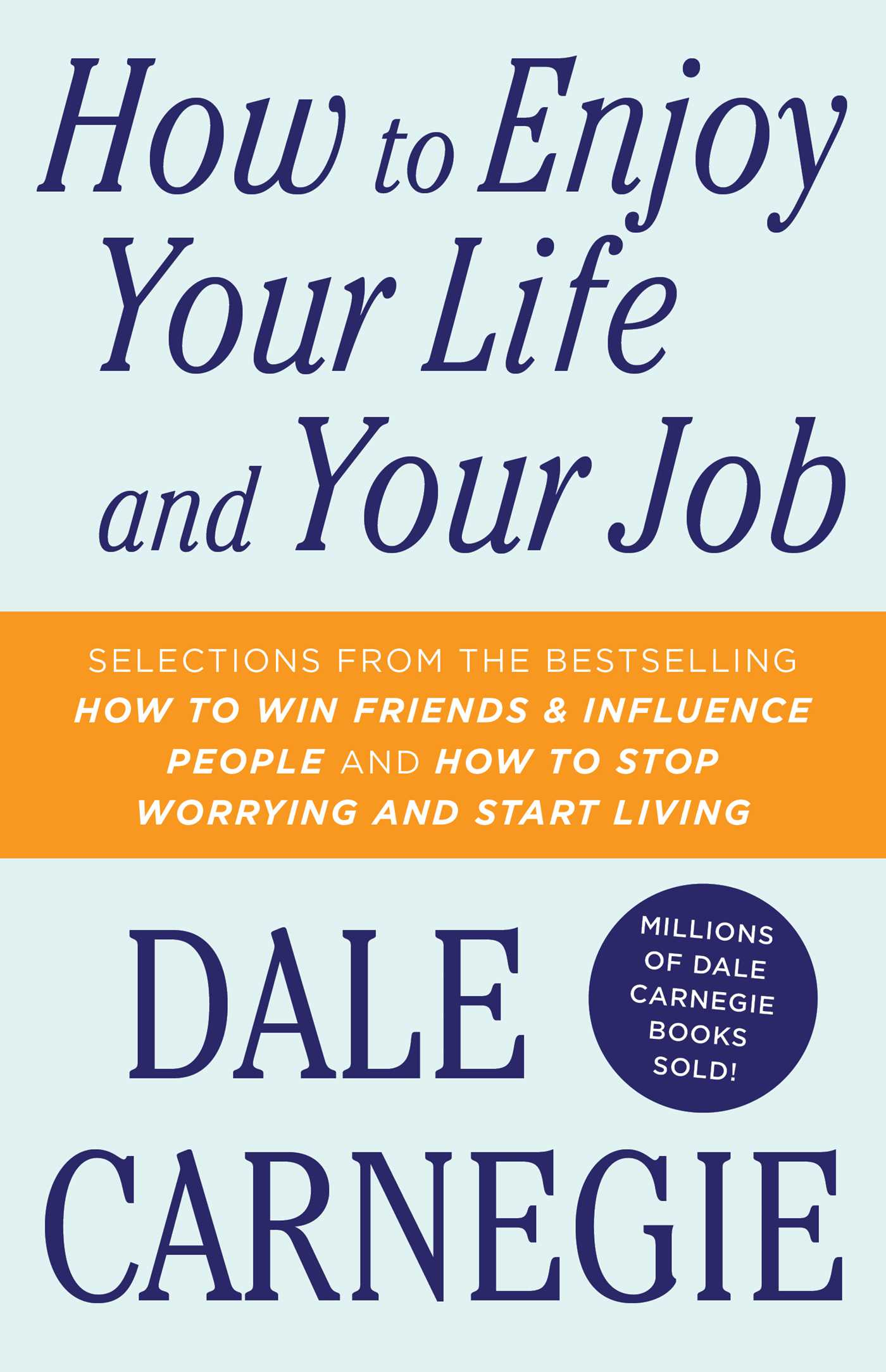 How to enjoy your life and your job 9781451621730 hr