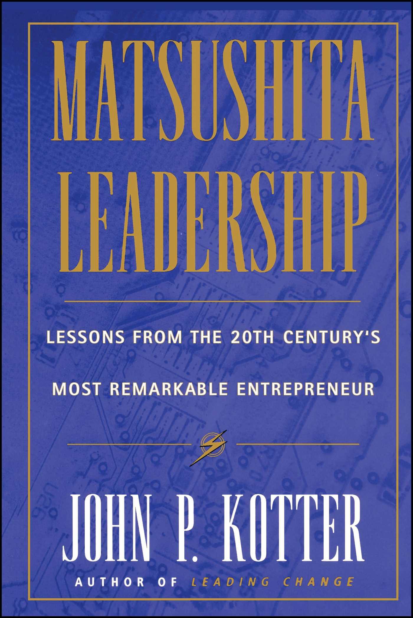 Matsushita leadership 9781451625943 hr