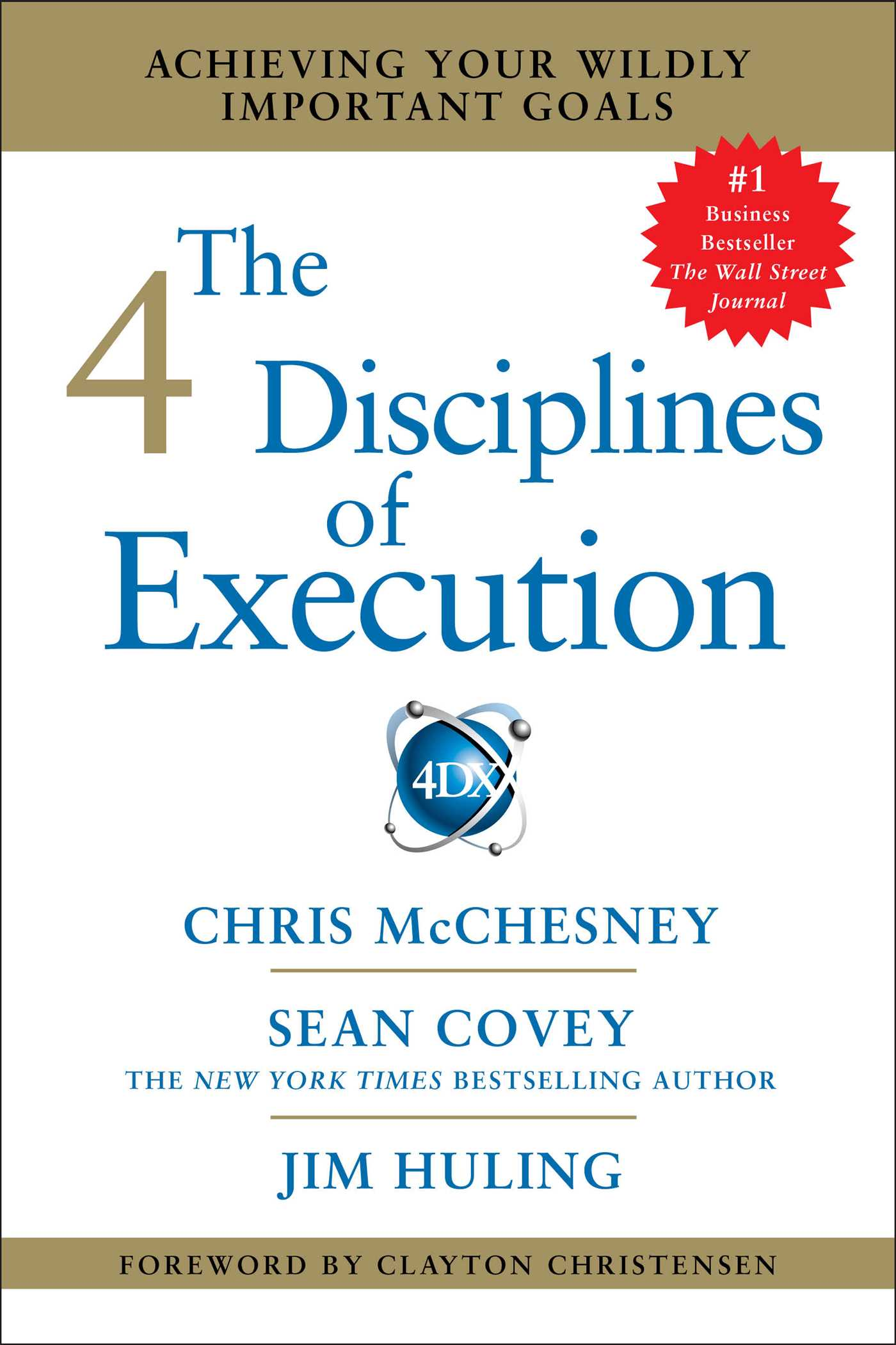 Book Cover Image (jpg): The 4 Disciplines of Execution