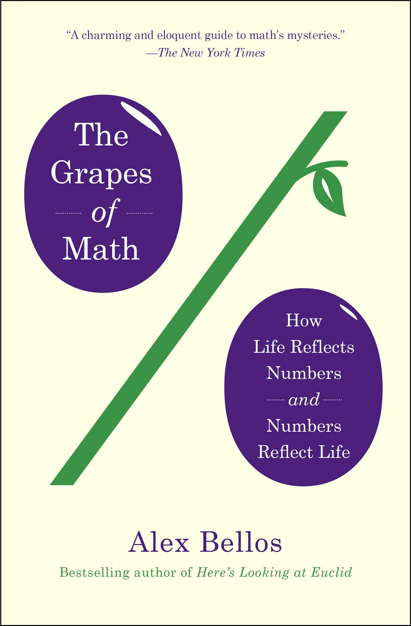 The Grapes of Math | Book by Alex Bellos | Official Publisher Page ...