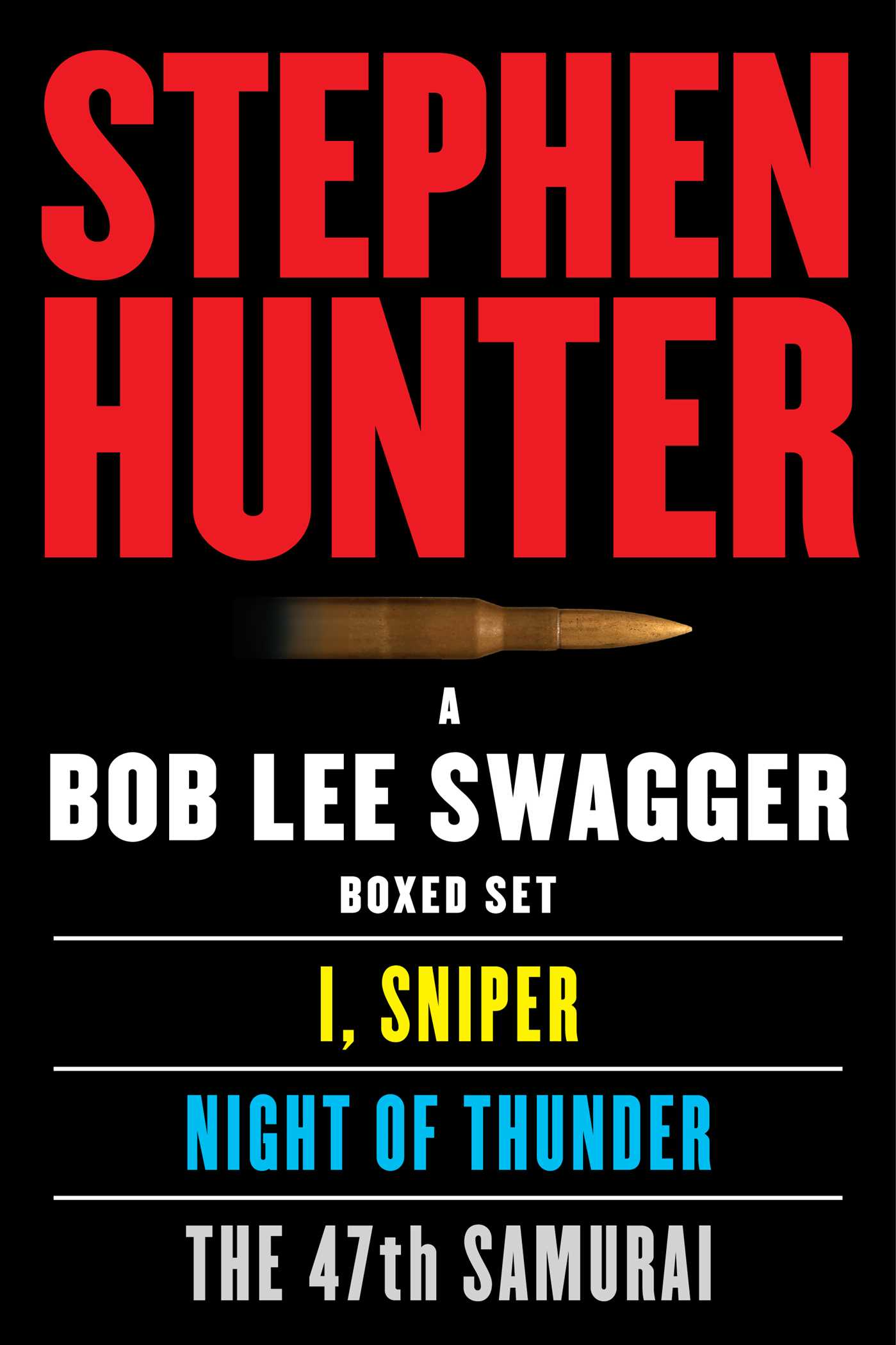 Book Cover Image (jpg): A Bob Lee Swagger eBook Boxed Set