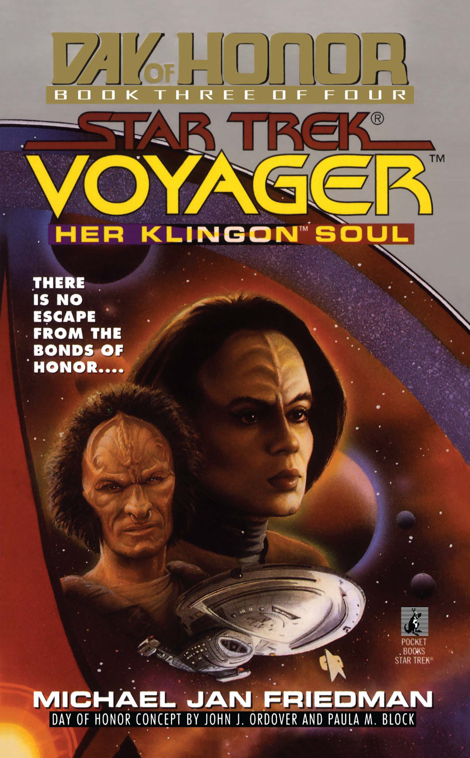Her klingon soul star trek voyager day of honor 3 9781451641707 hr
