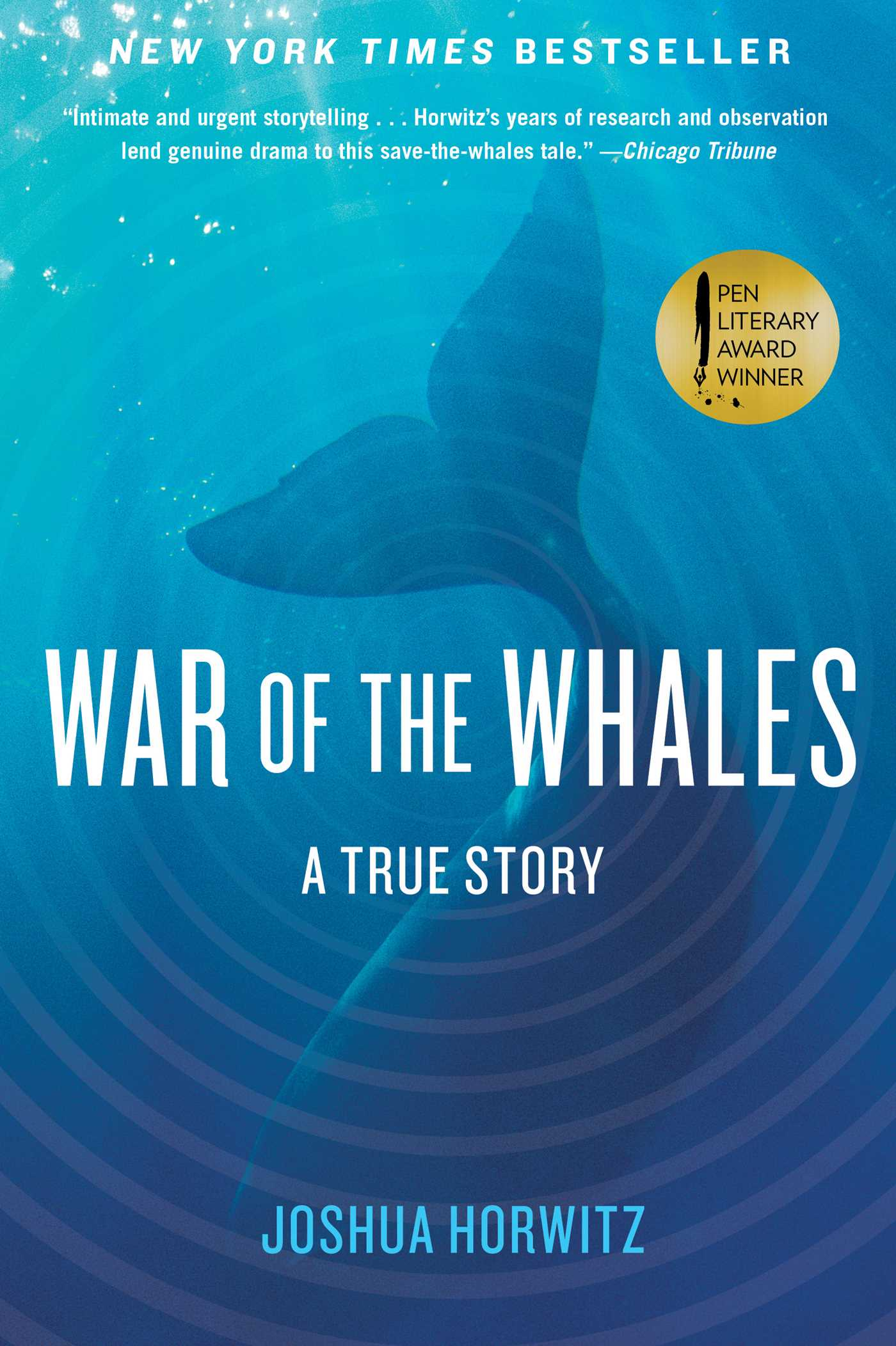 War of the whales 9781451645026 hr