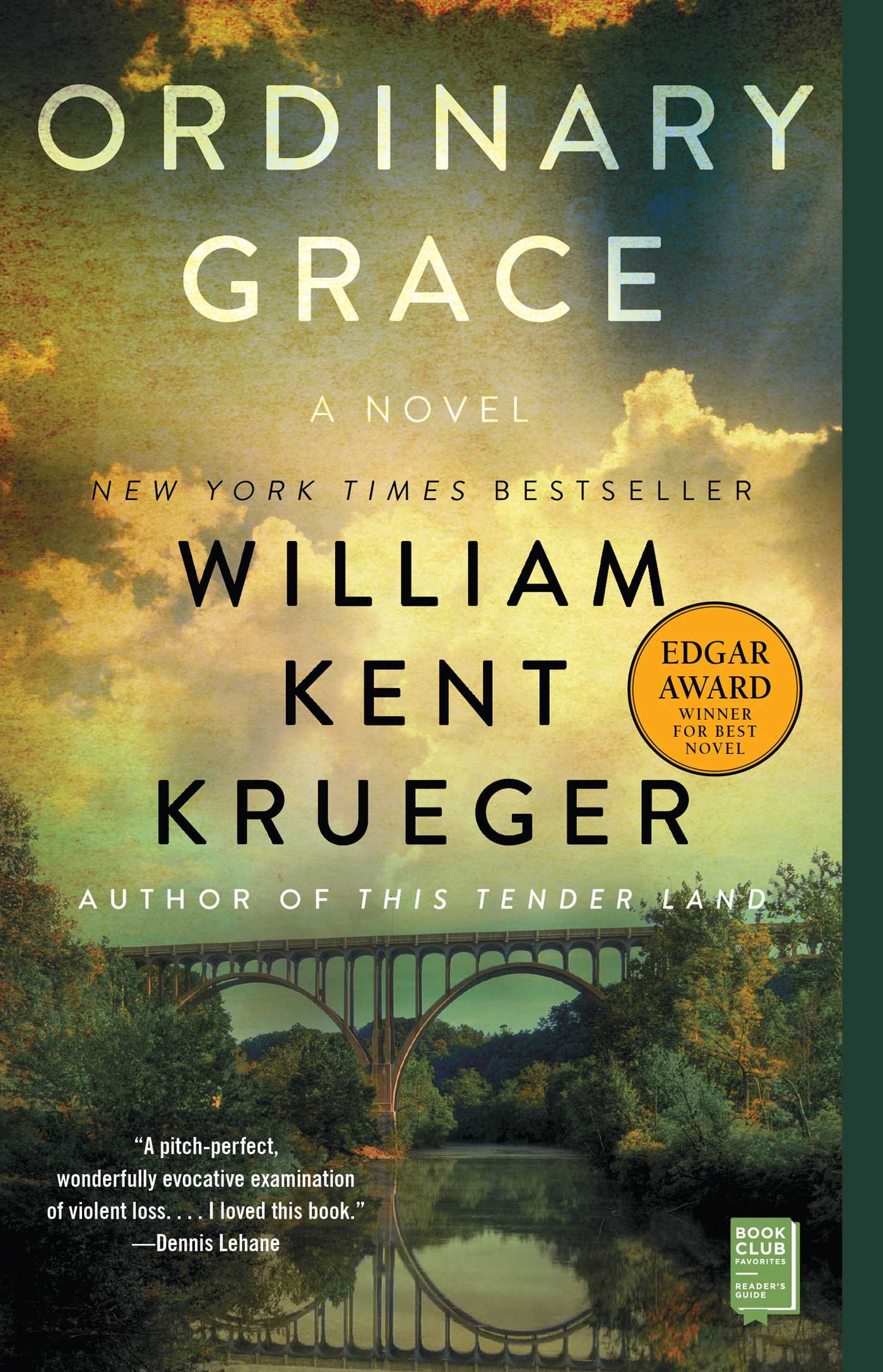 Ordinary Grace Book By William Kent Krueger Official