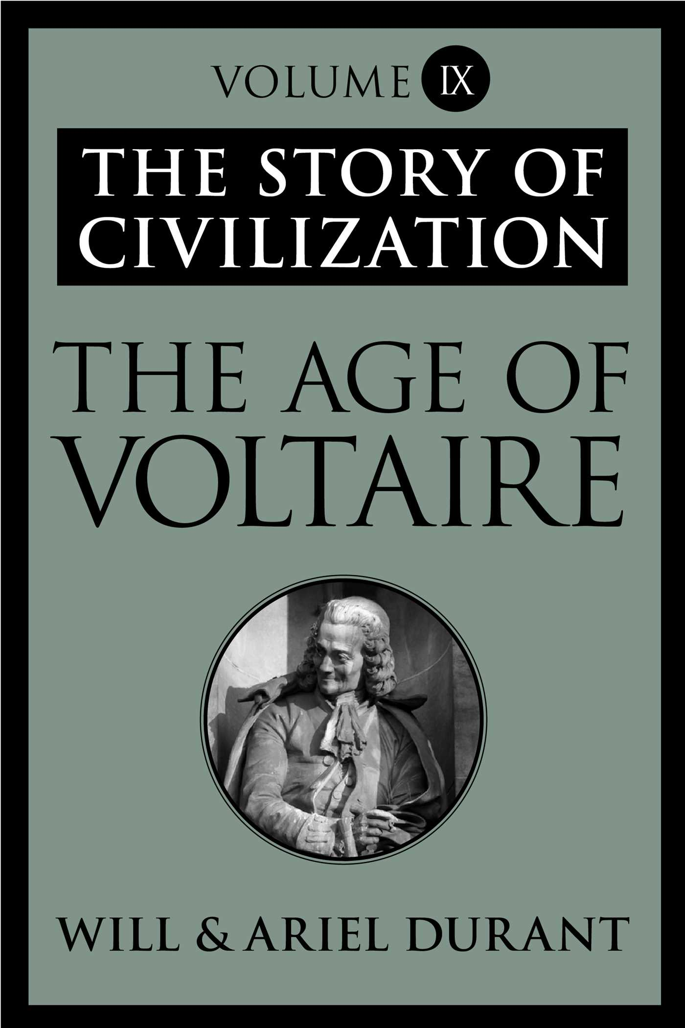The age of voltaire 9781451647662 hr