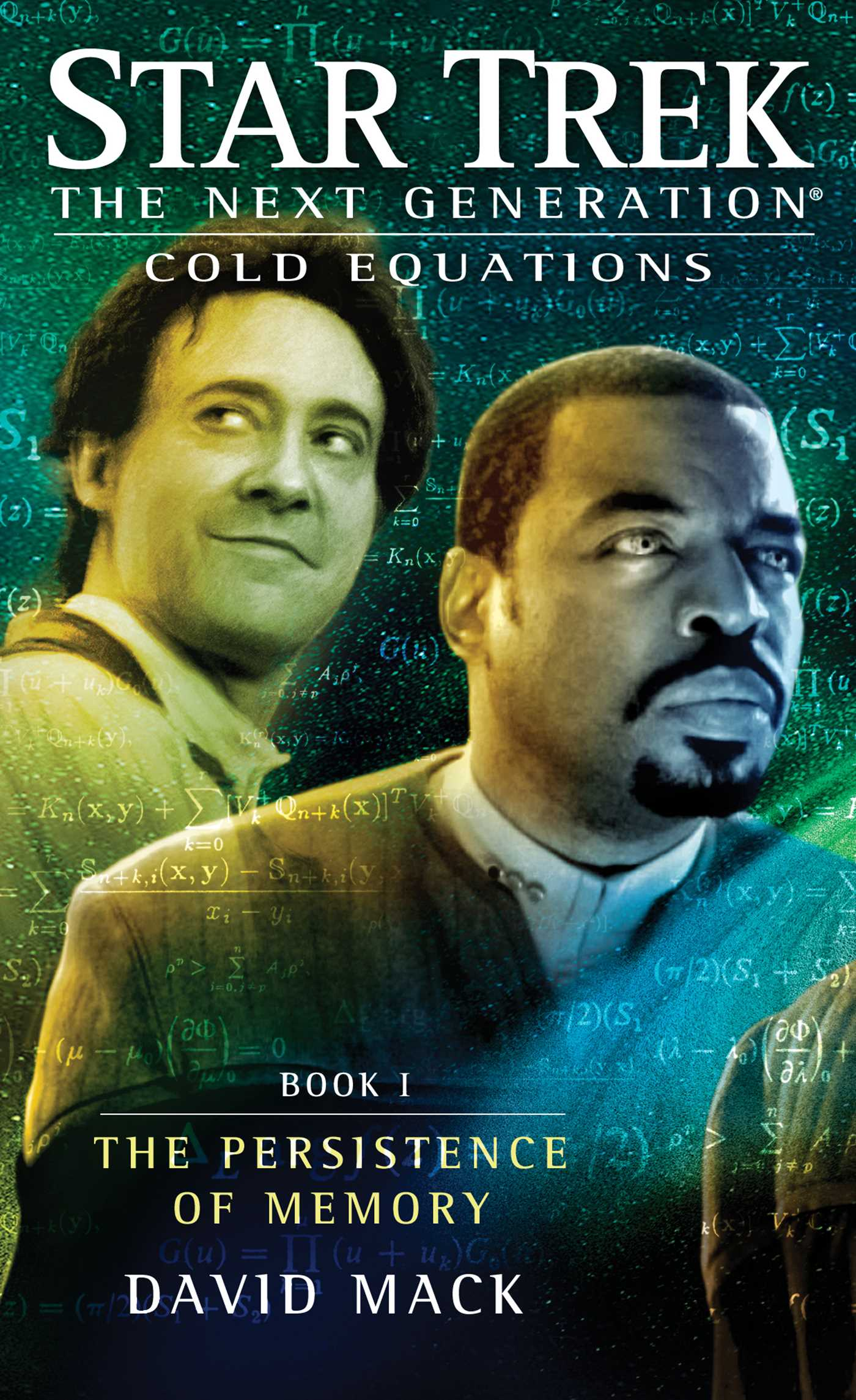 Star trek the next generation cold equations the persistence of memory 9781451650754 hr