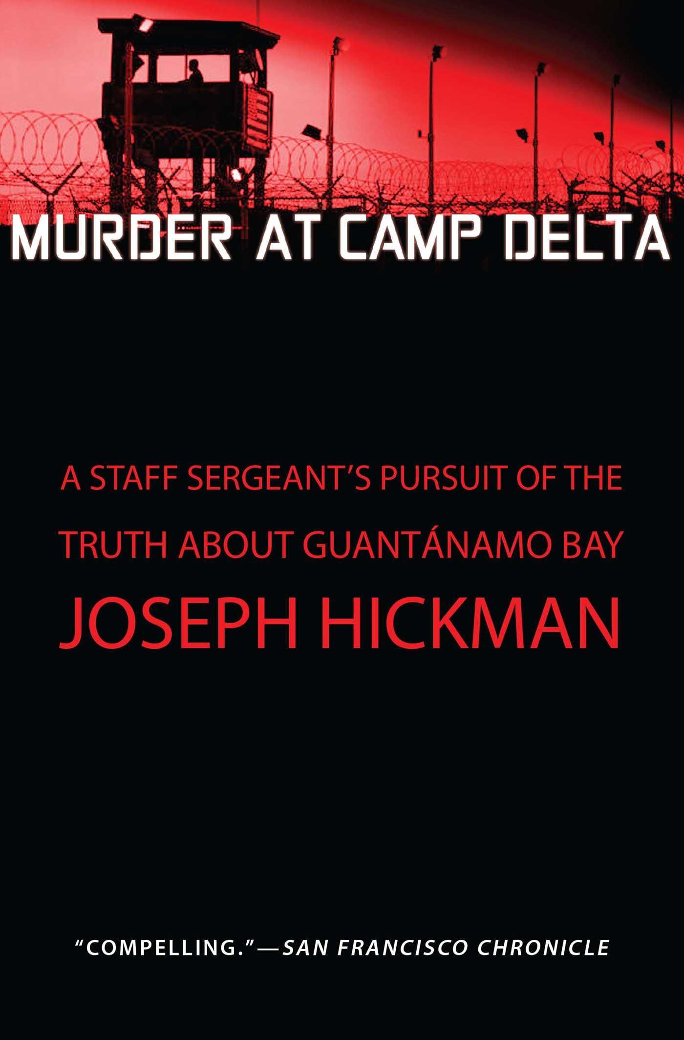 Murder at camp delta 9781451650808 hr