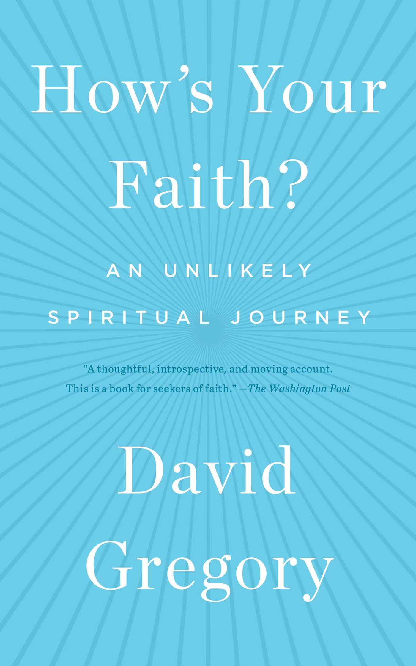 Hows your faith 9781451651614 hr