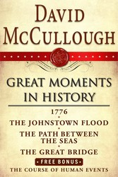 David McCullough Great Moments in History E-book Box Set