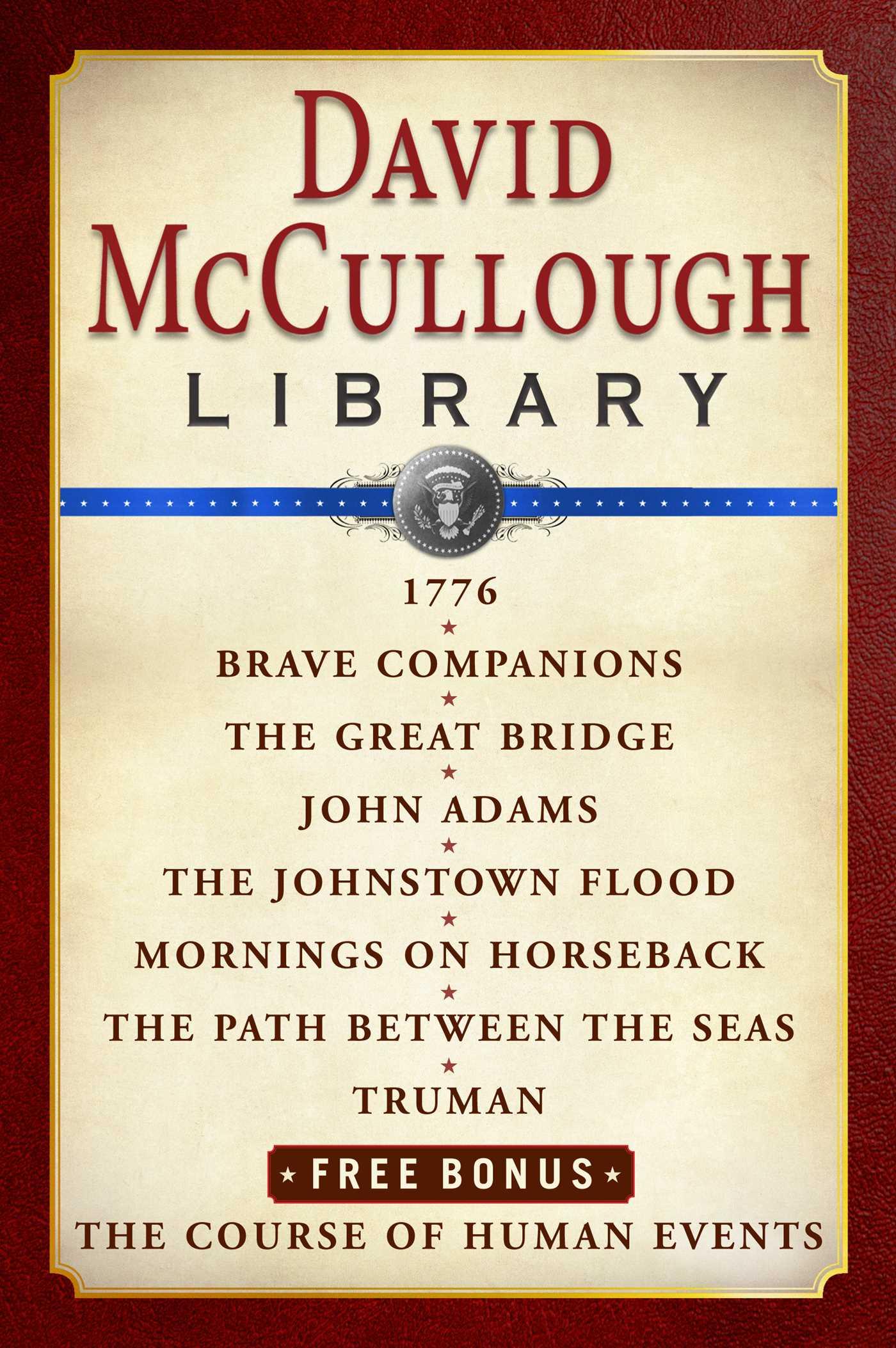David McCullough Library E-book Box Set eBook by David McCullough