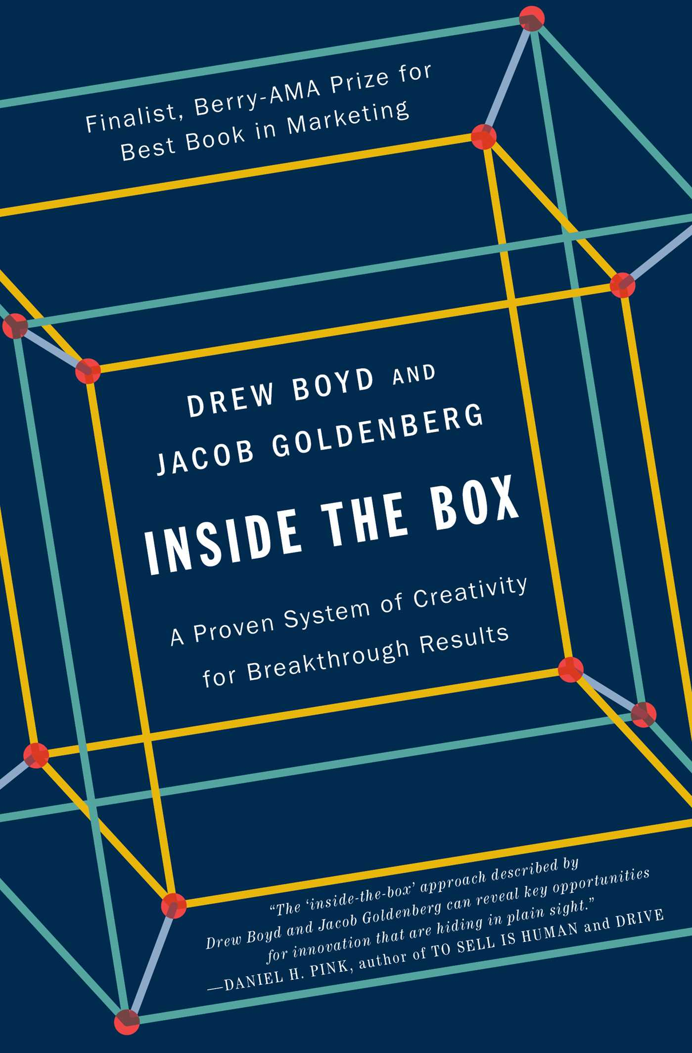 Inside The Box Book By Drew Boyd Jacob Goldenberg Official