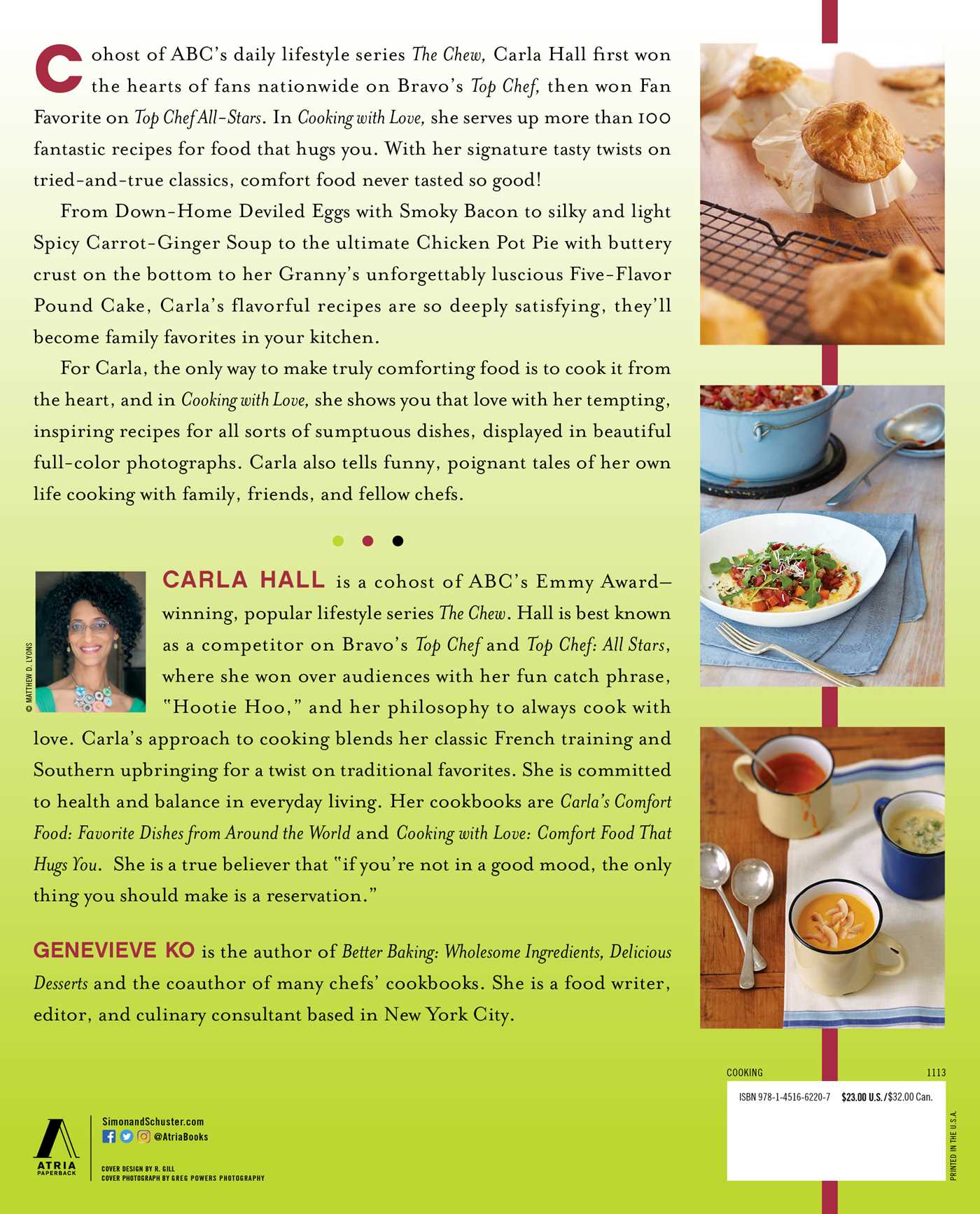 Cooking with love book by carla hall genevieve ko official cvr9781451662207 9781451662207 hr cooking with love 9781451662207 hr back forumfinder Images