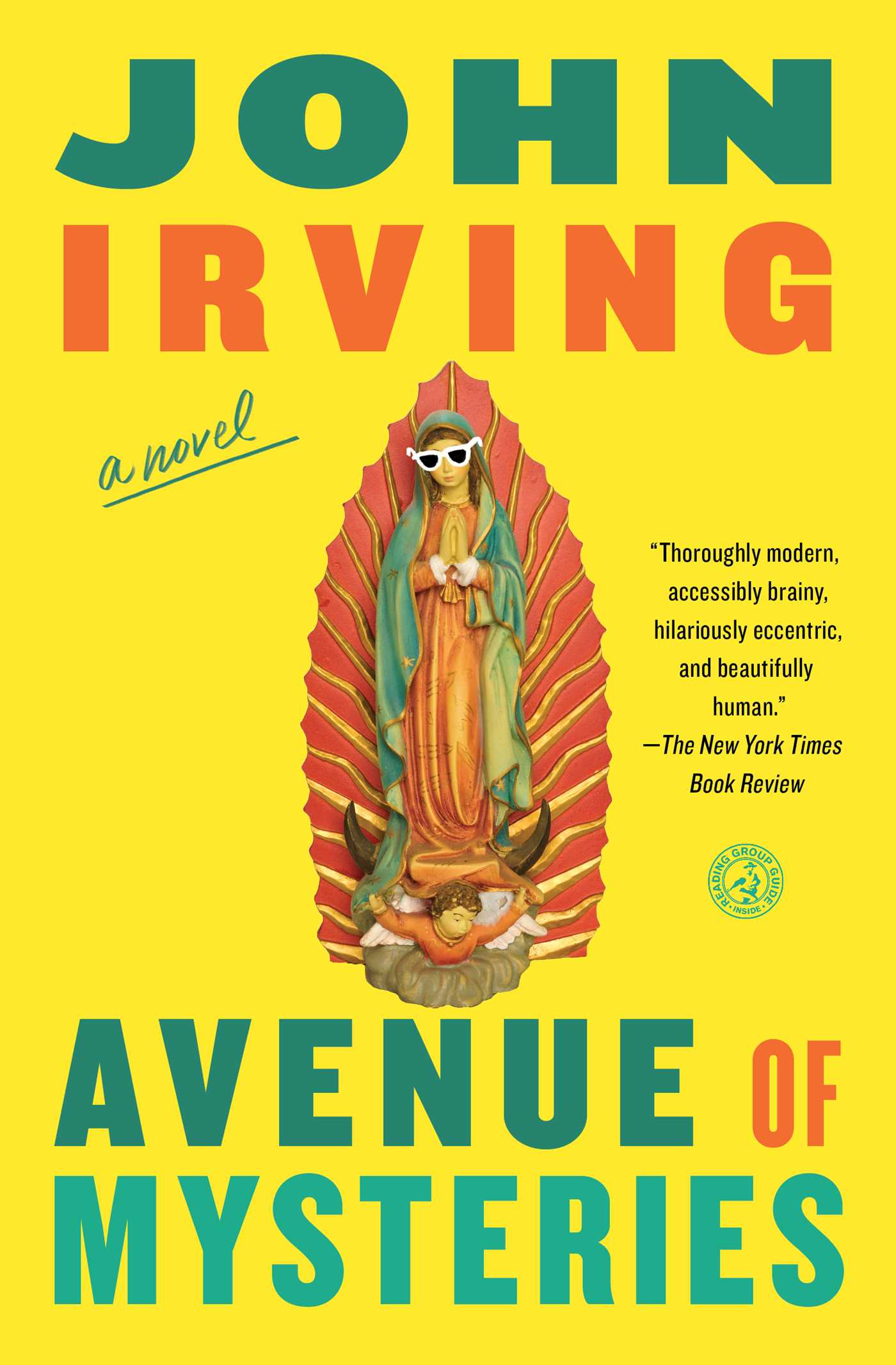 Avenue of mysteries book by john irving official publisher page avenue of mysteries 9781451664171 hr fandeluxe Image collections