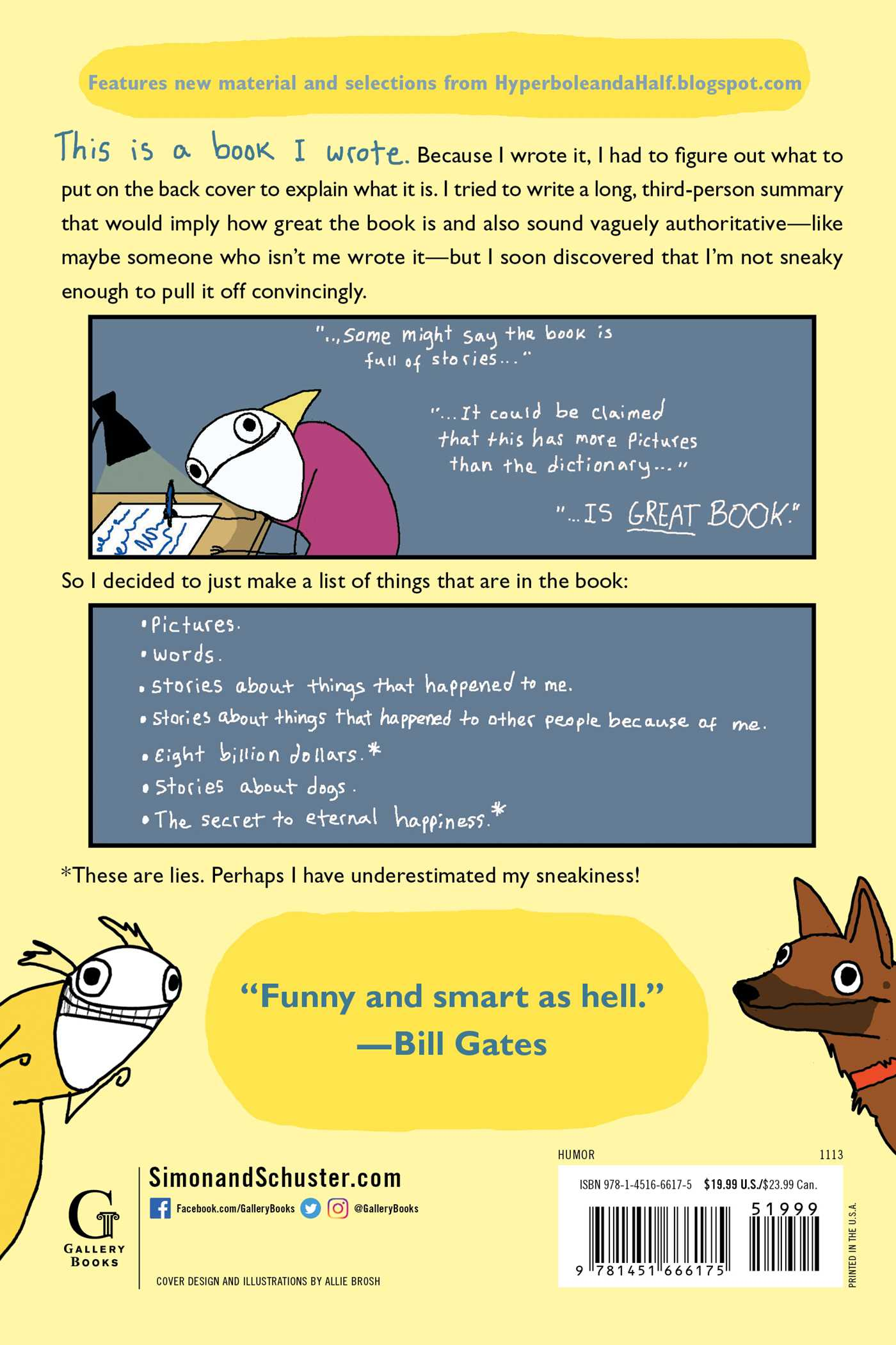 Hyperbole And A Half Book By Allie Brosh Official Publisher Page