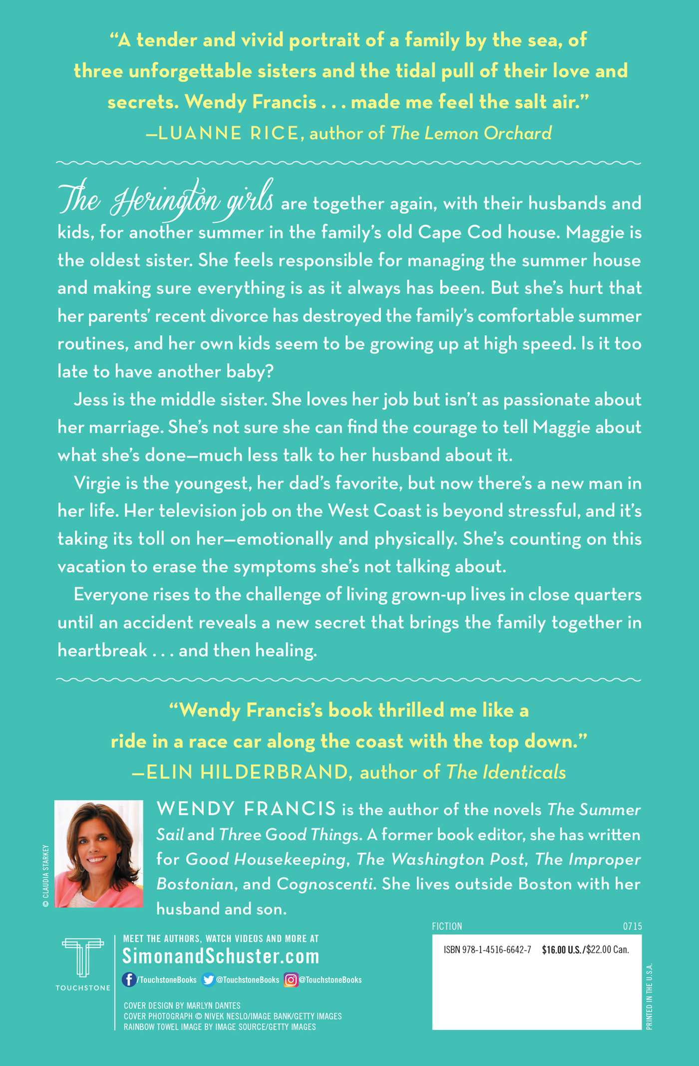 The Summer of Good Intentions | Book by Wendy Francis | Official ...