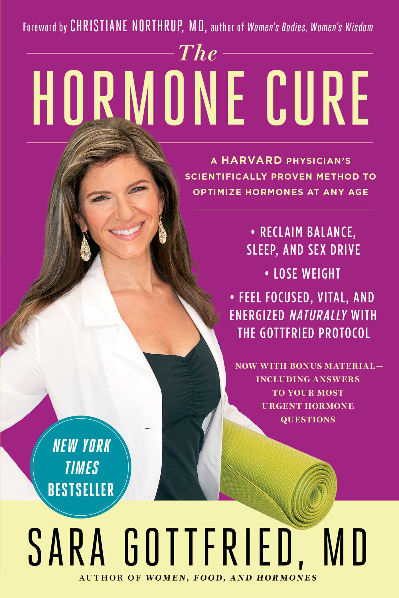 The hormone cure 9781451666960 hr