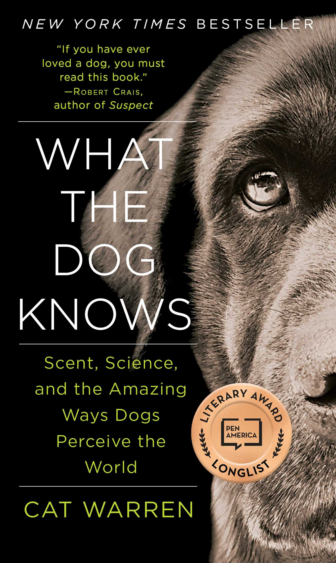 What the dog knows 9781451667325 hr