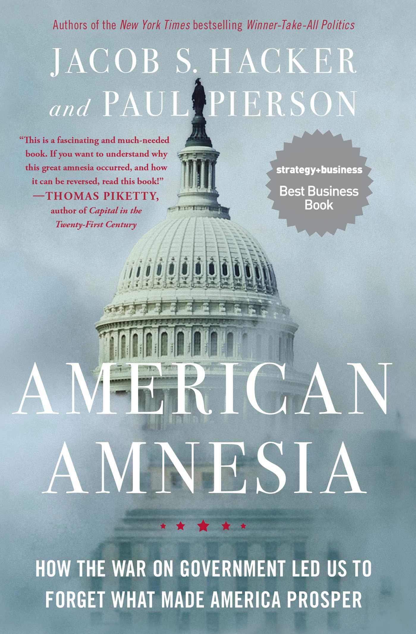 American amnesia 9781451667837 hr