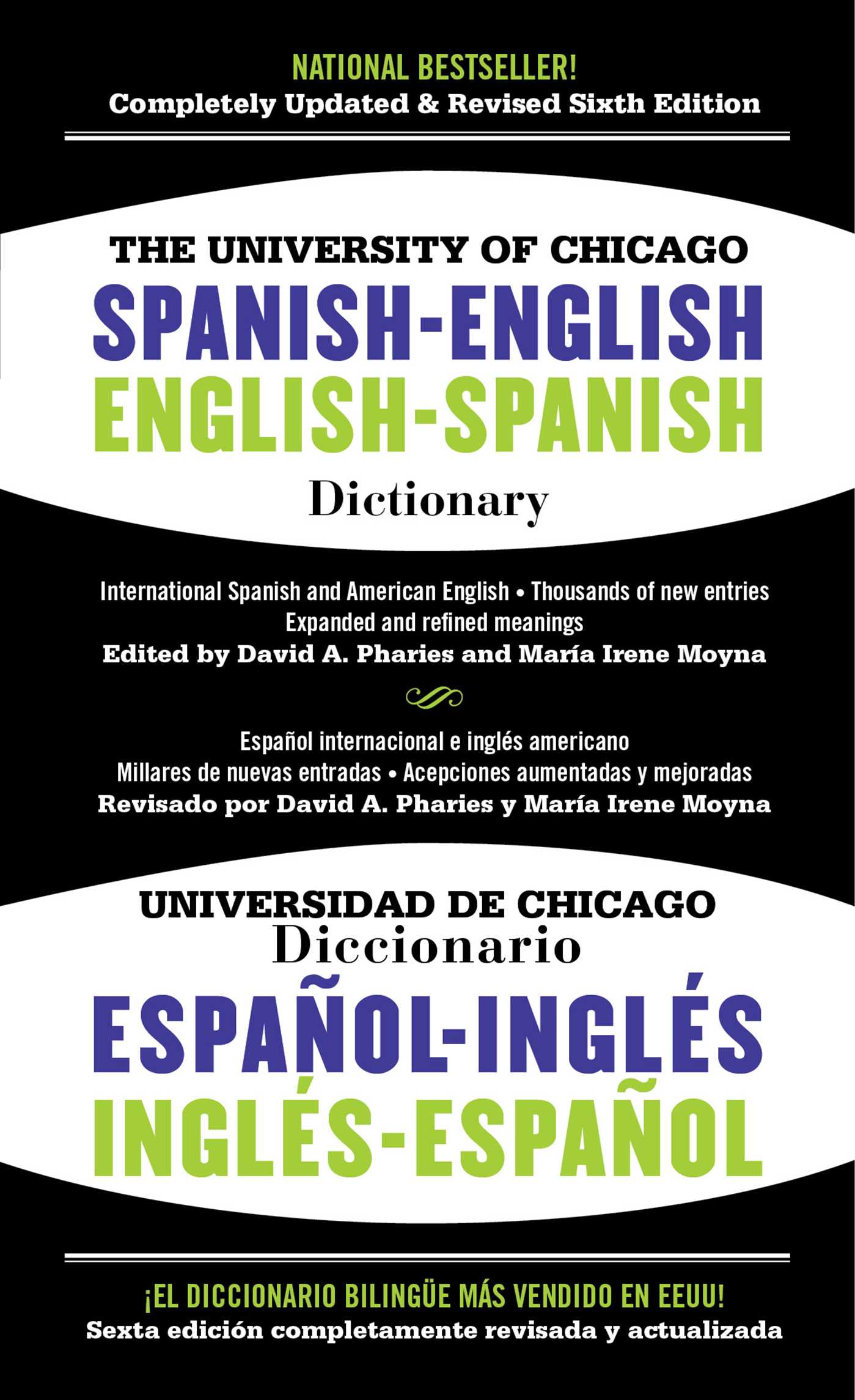 Book Cover Image (jpg): The University of Chicago Spanish-English  Dictionary, 6th Edition