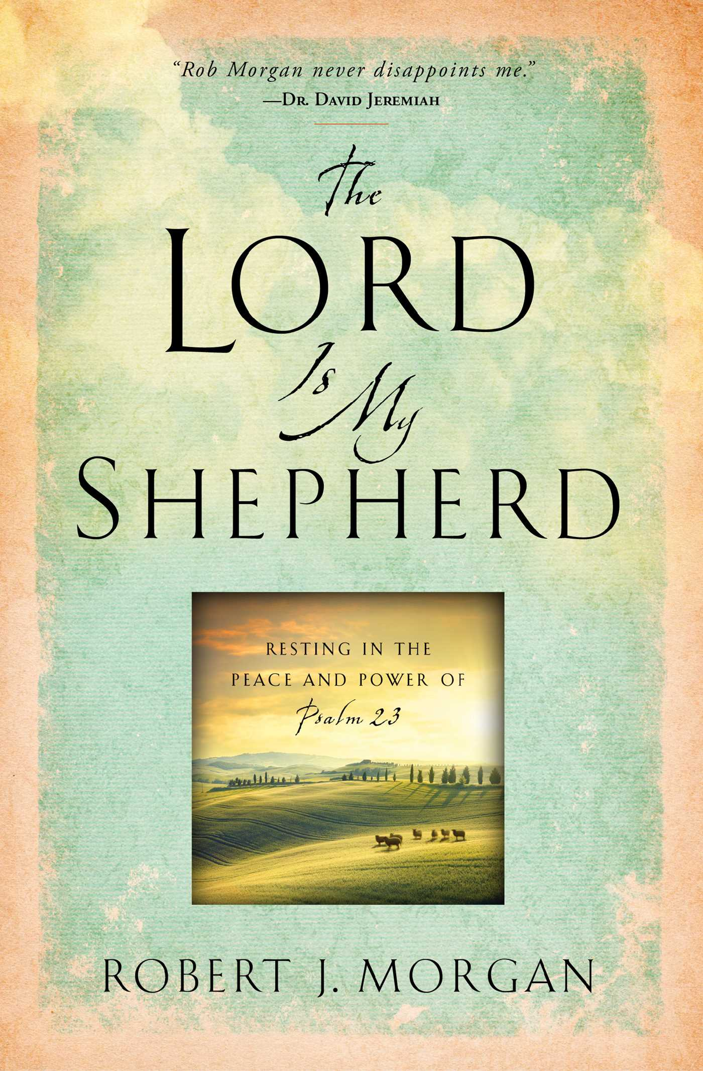 The lord is my shepherd 9781451669169 hr