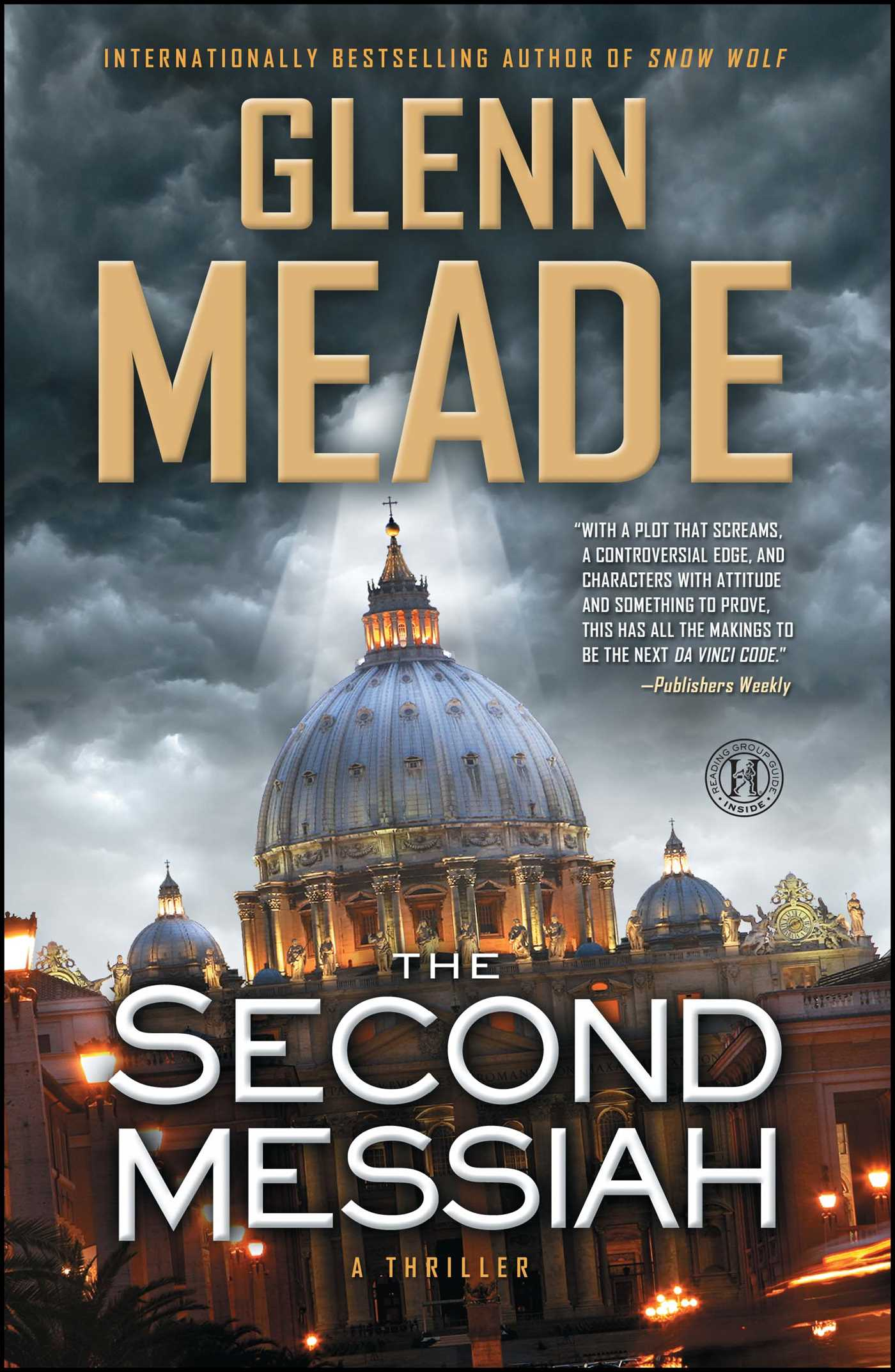 The second messiah book by glenn meade official publisher page the second messiah 9781451669442 hr solutioingenieria Gallery
