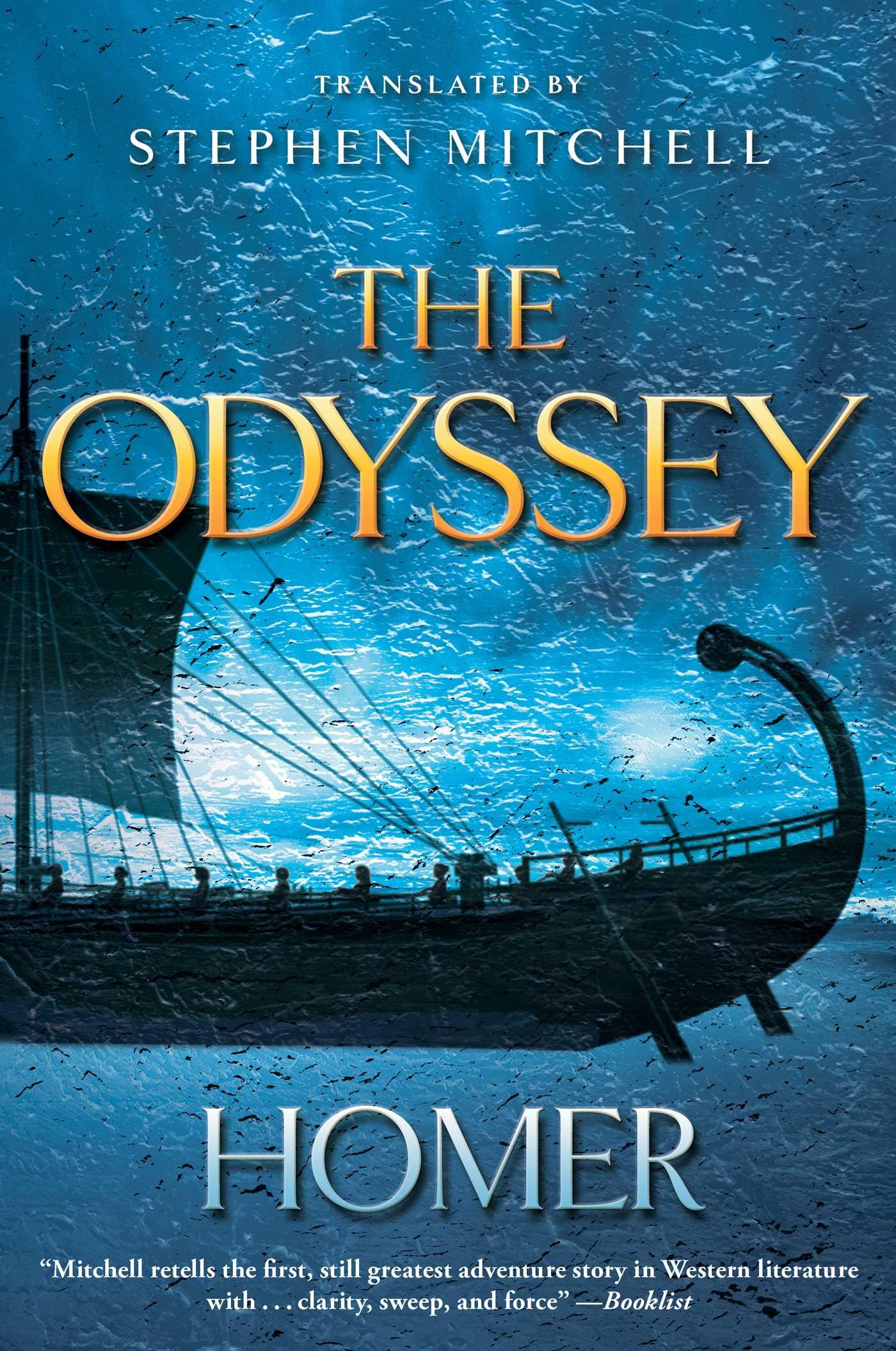 the odyssey literature book version