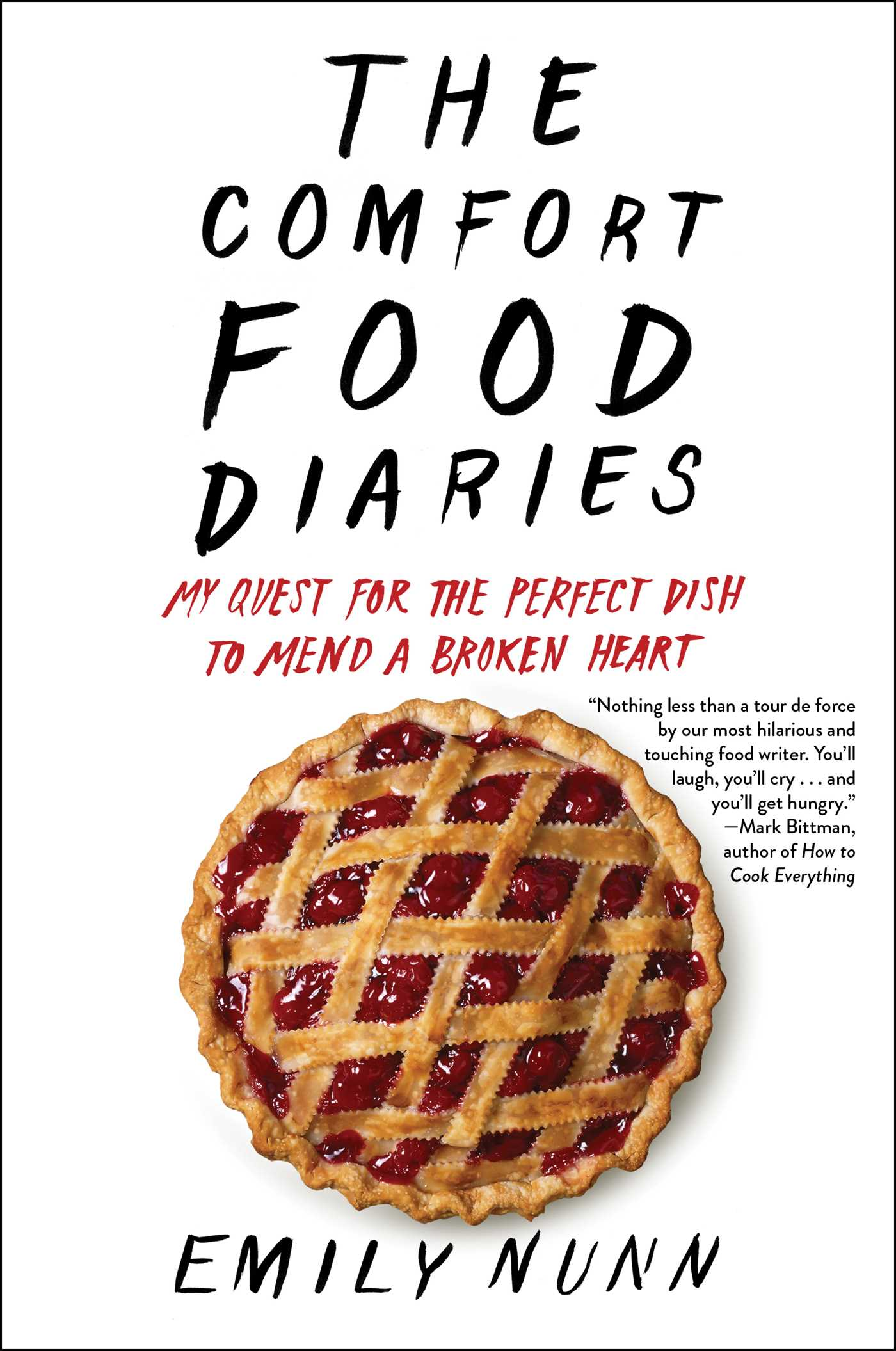 The comfort food diaries 9781451674200 hr