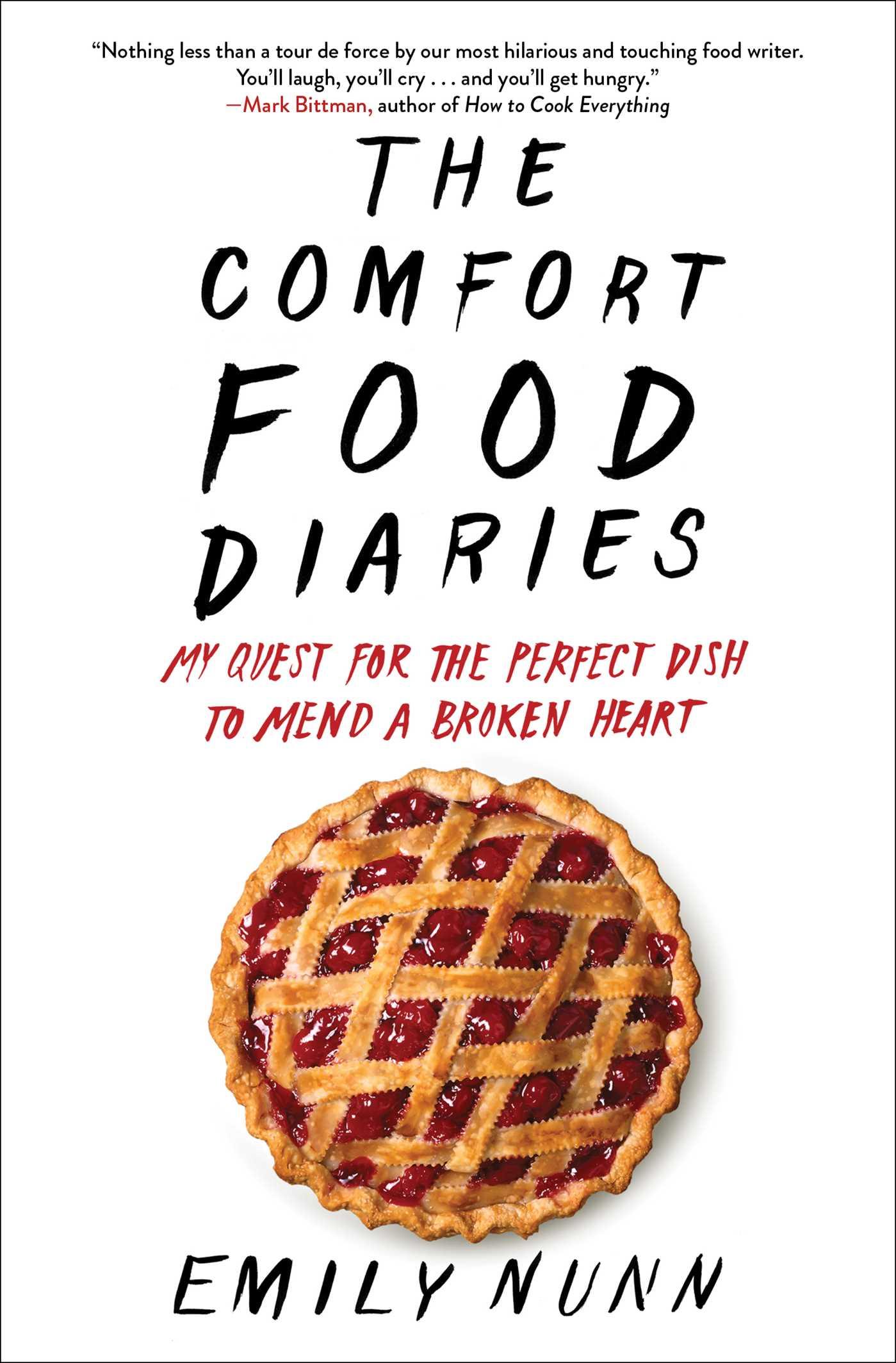 The comfort food diaries 9781451674224 hr