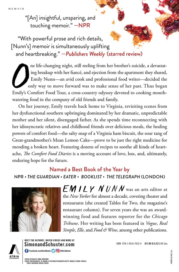 The Comfort Food Diaries Book By Emily Nunn Official Publisher