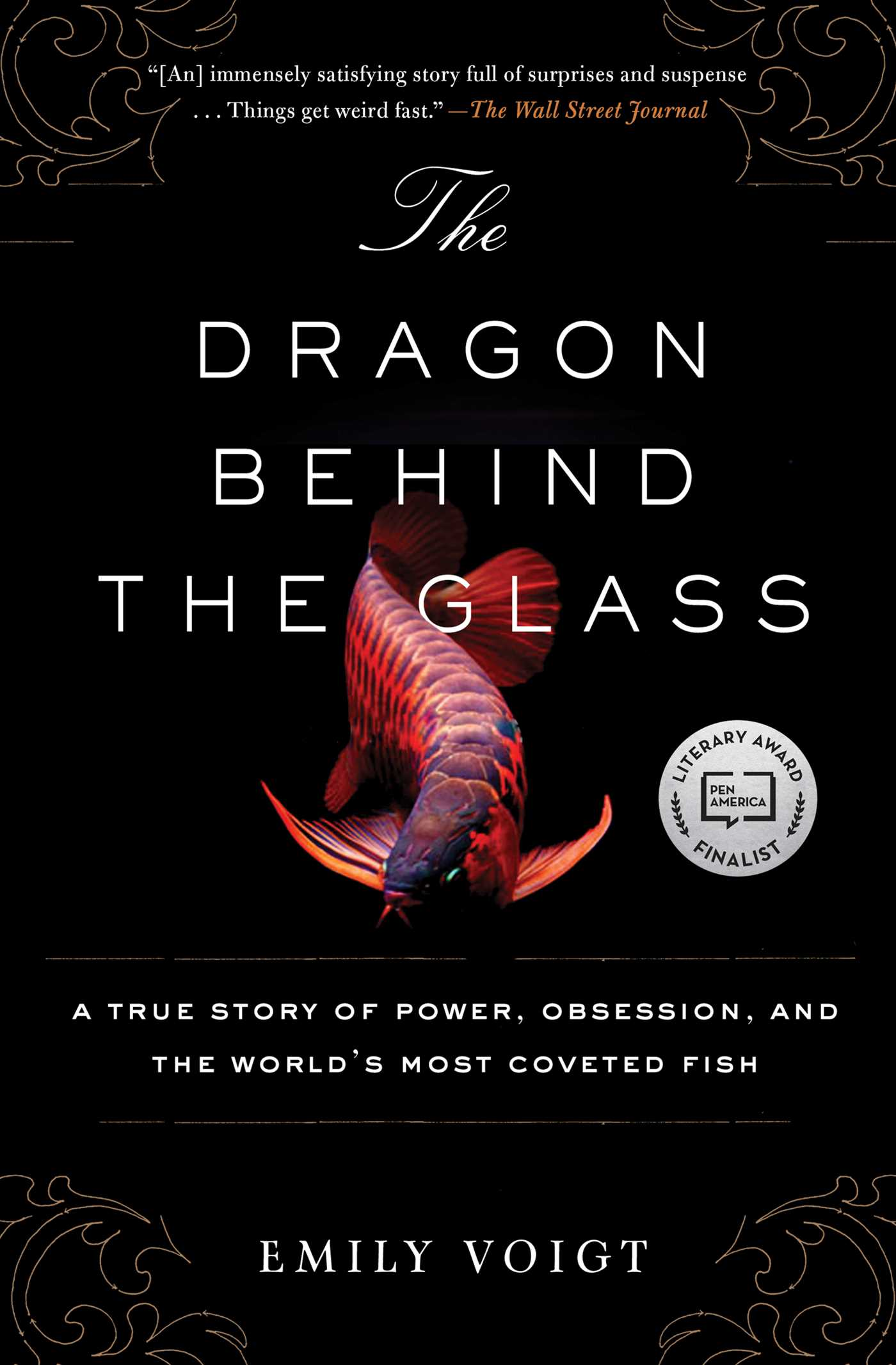 The dragon behind the glass 9781451678956 hr