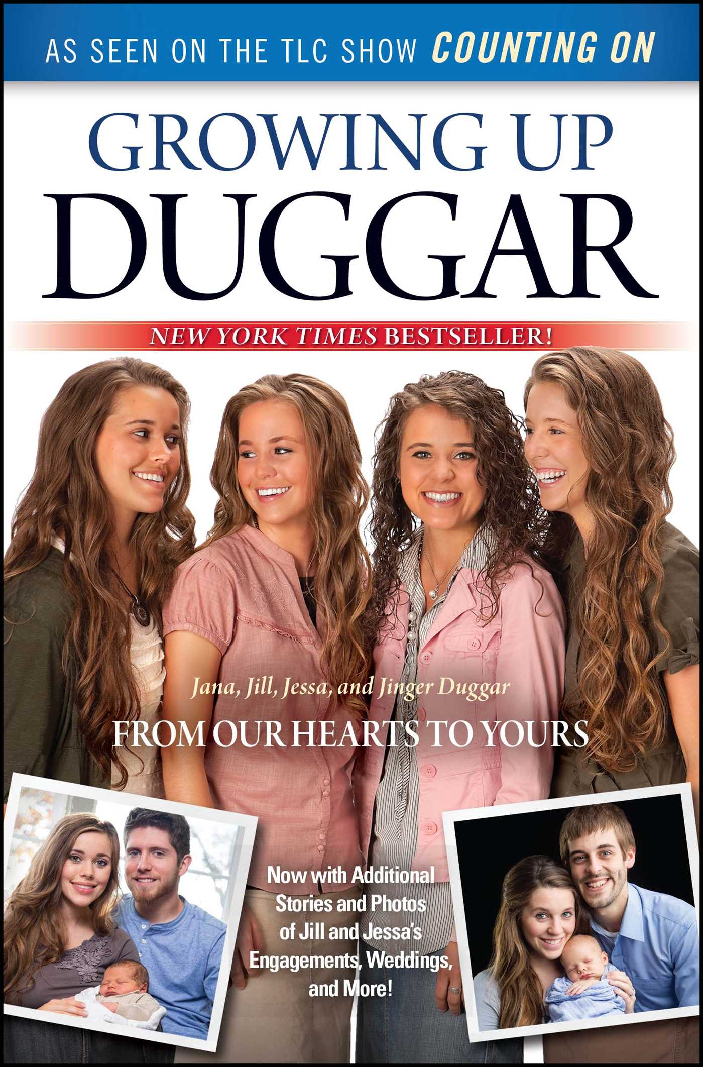 Growing up duggar 9781451679182 hr