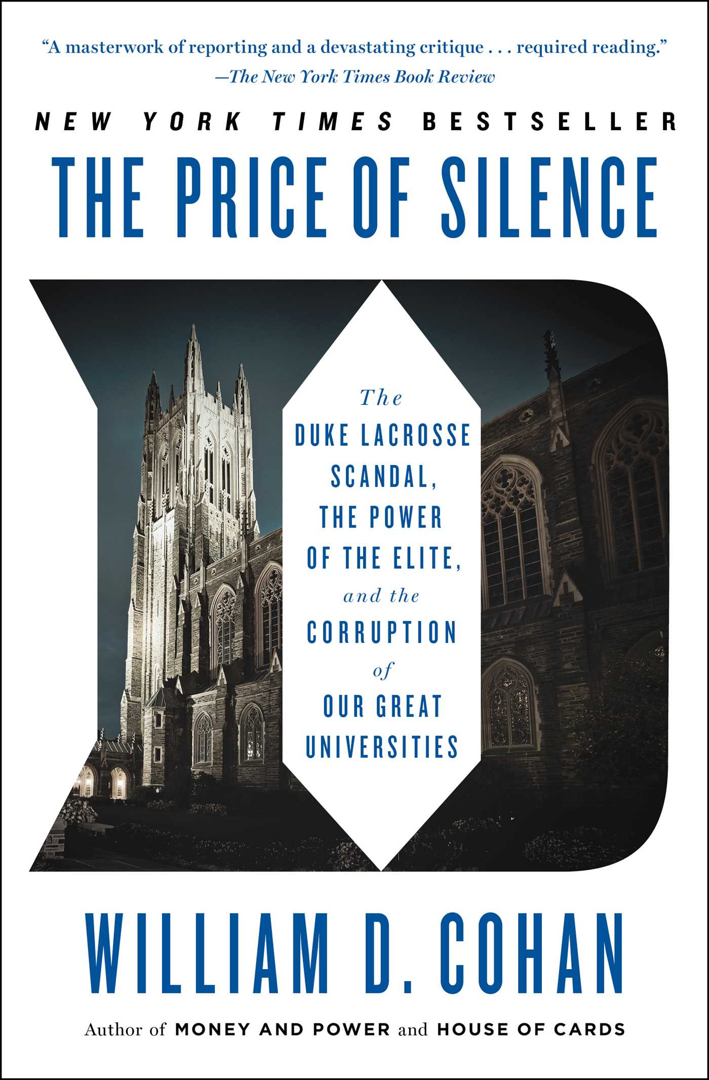 The price of silence book by william d cohan official publisher the price of silence 9781451681802 hr fandeluxe Images