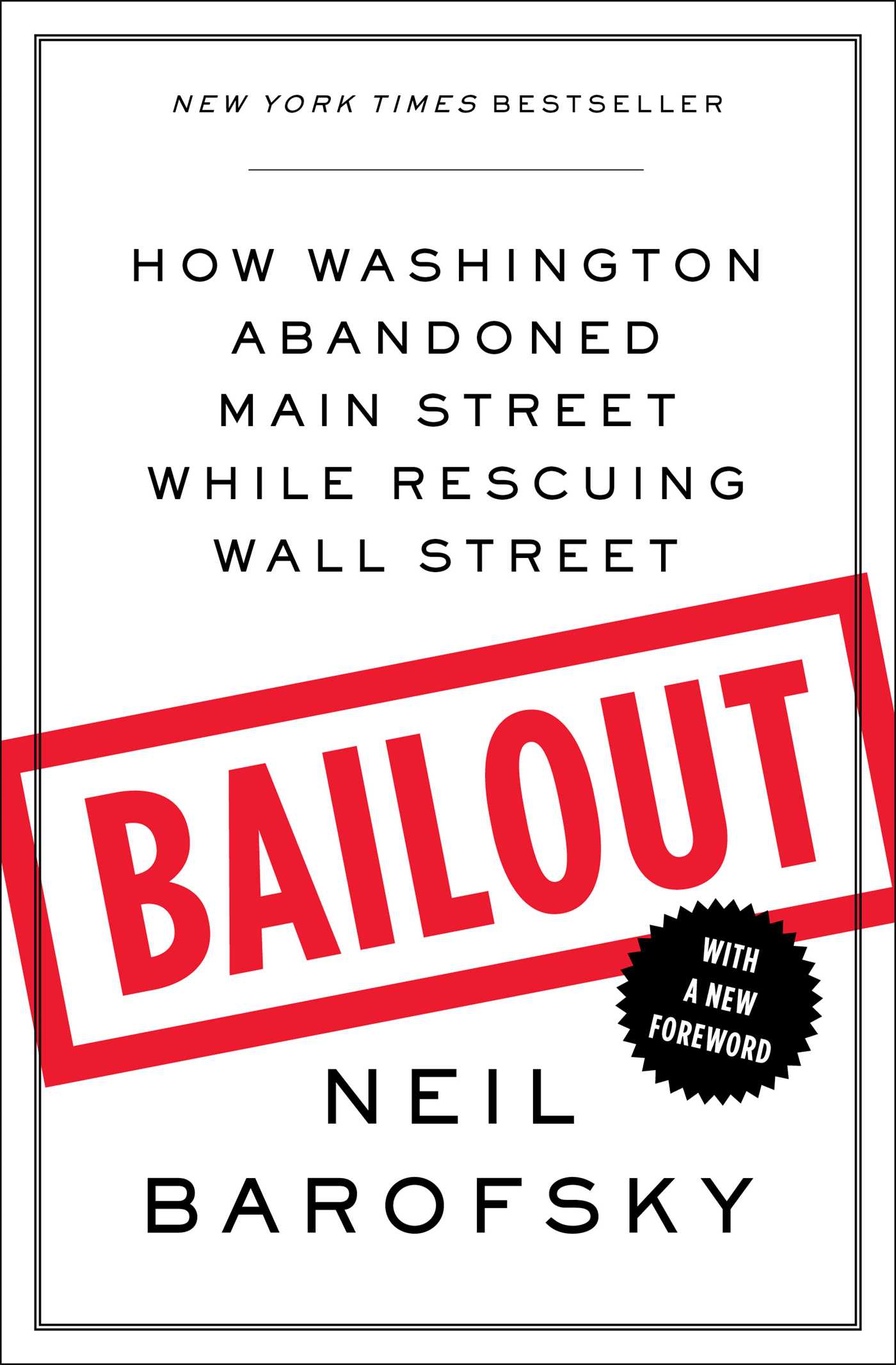 Bailout 9781451684940 hr