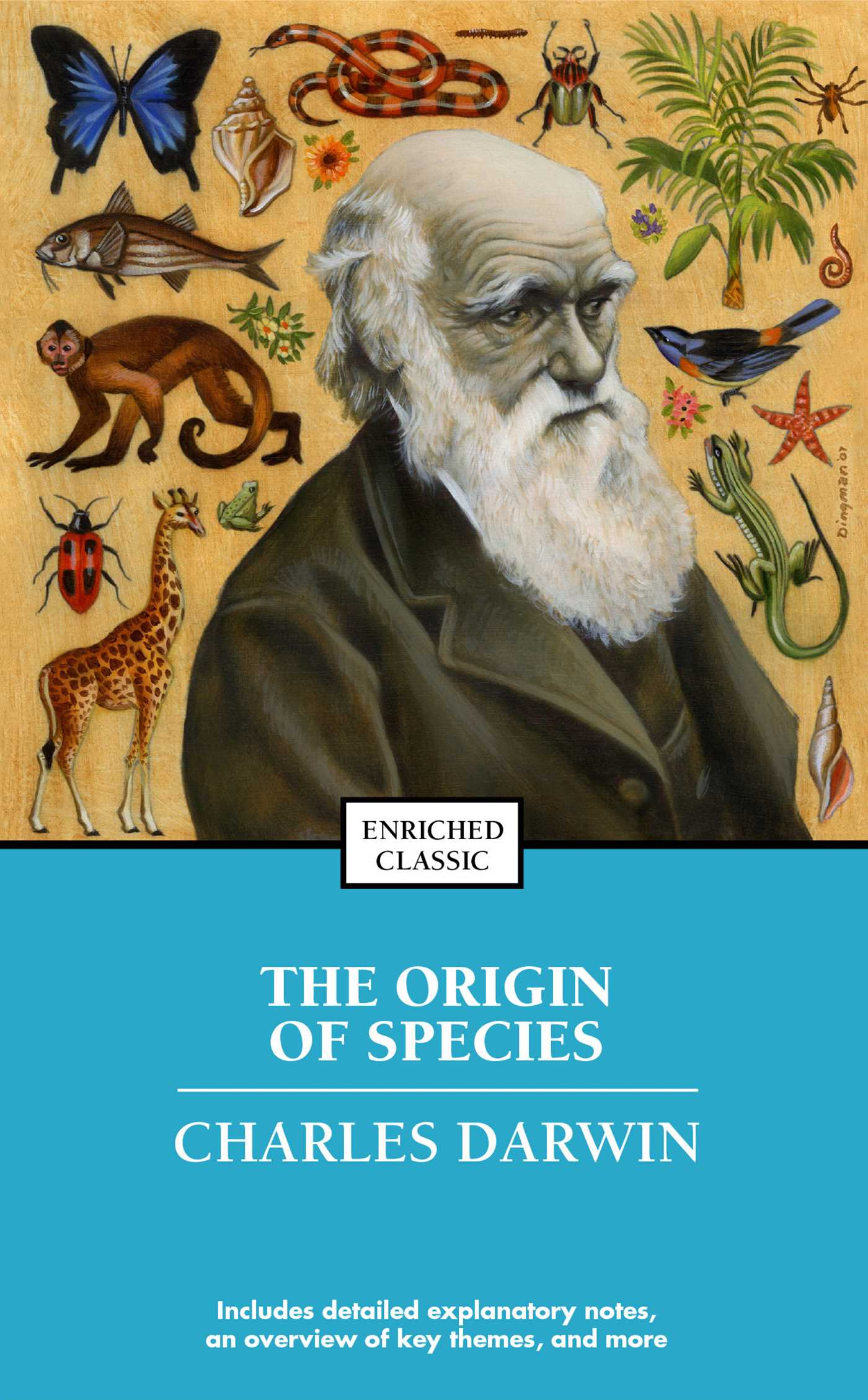 a look at the origin of species by charles darwin Charles darwin had looked into the eye of the storm, and found something revolutionary in november, 1859, darwin published the origin of species in which he proposed his ideas of the origin of an allopolyploid begins when two different species breed and combine their chromosomes.