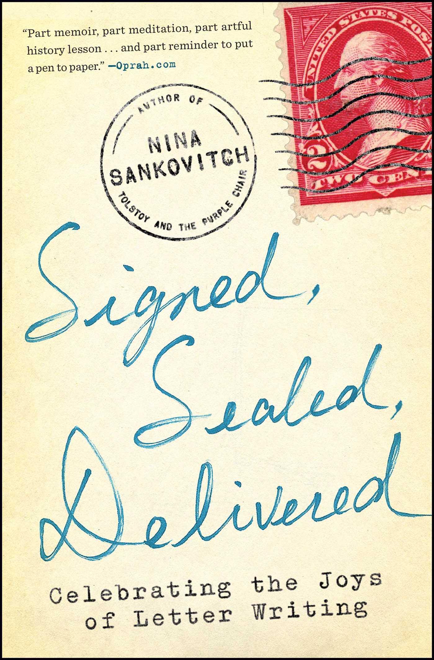 Signed sealed delivered 9781451687163 hr