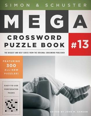 Simon & Schuster Mega Crossword Puzzle Book #13