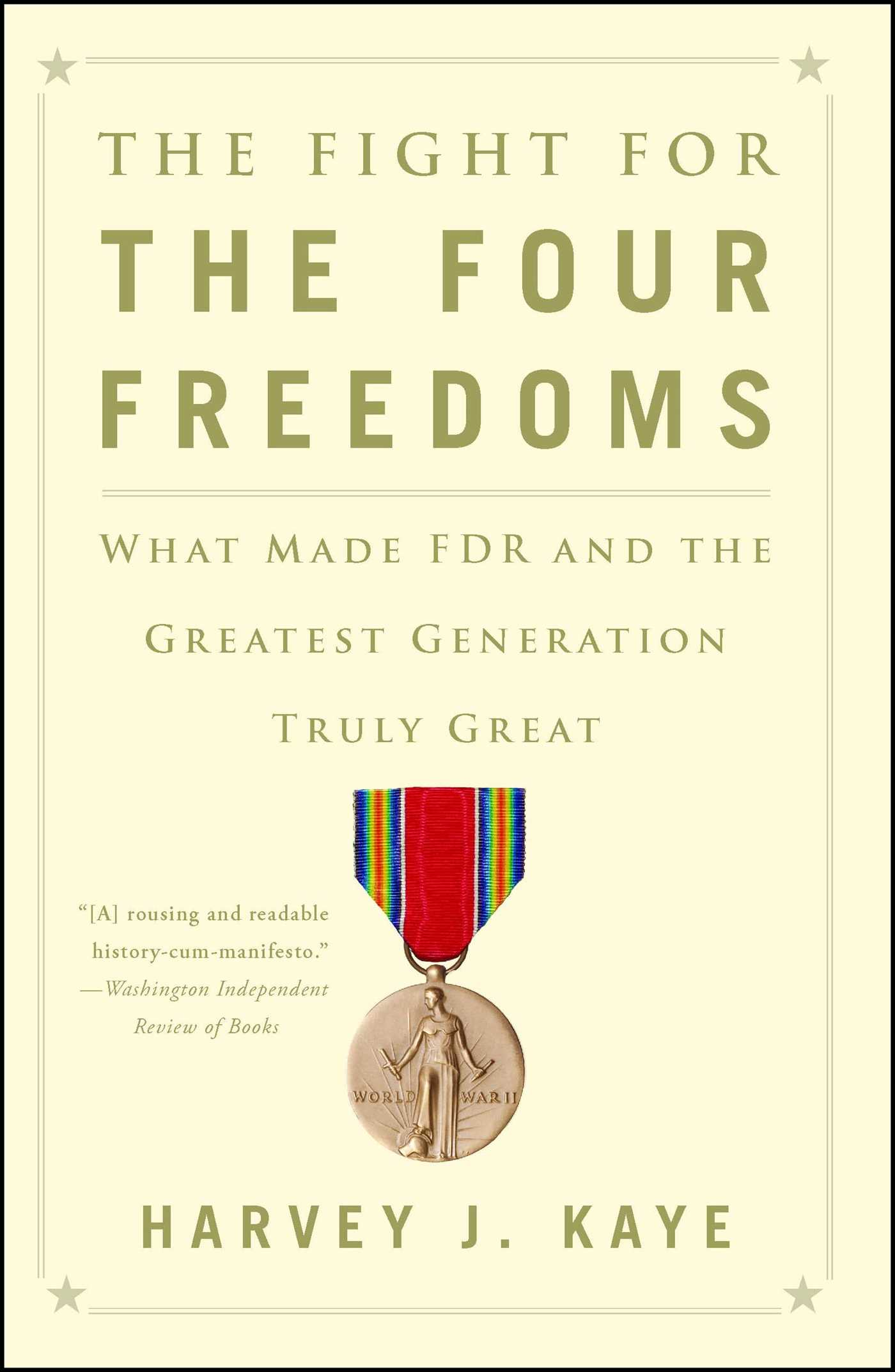 The fight for the four freedoms 9781451691443 hr
