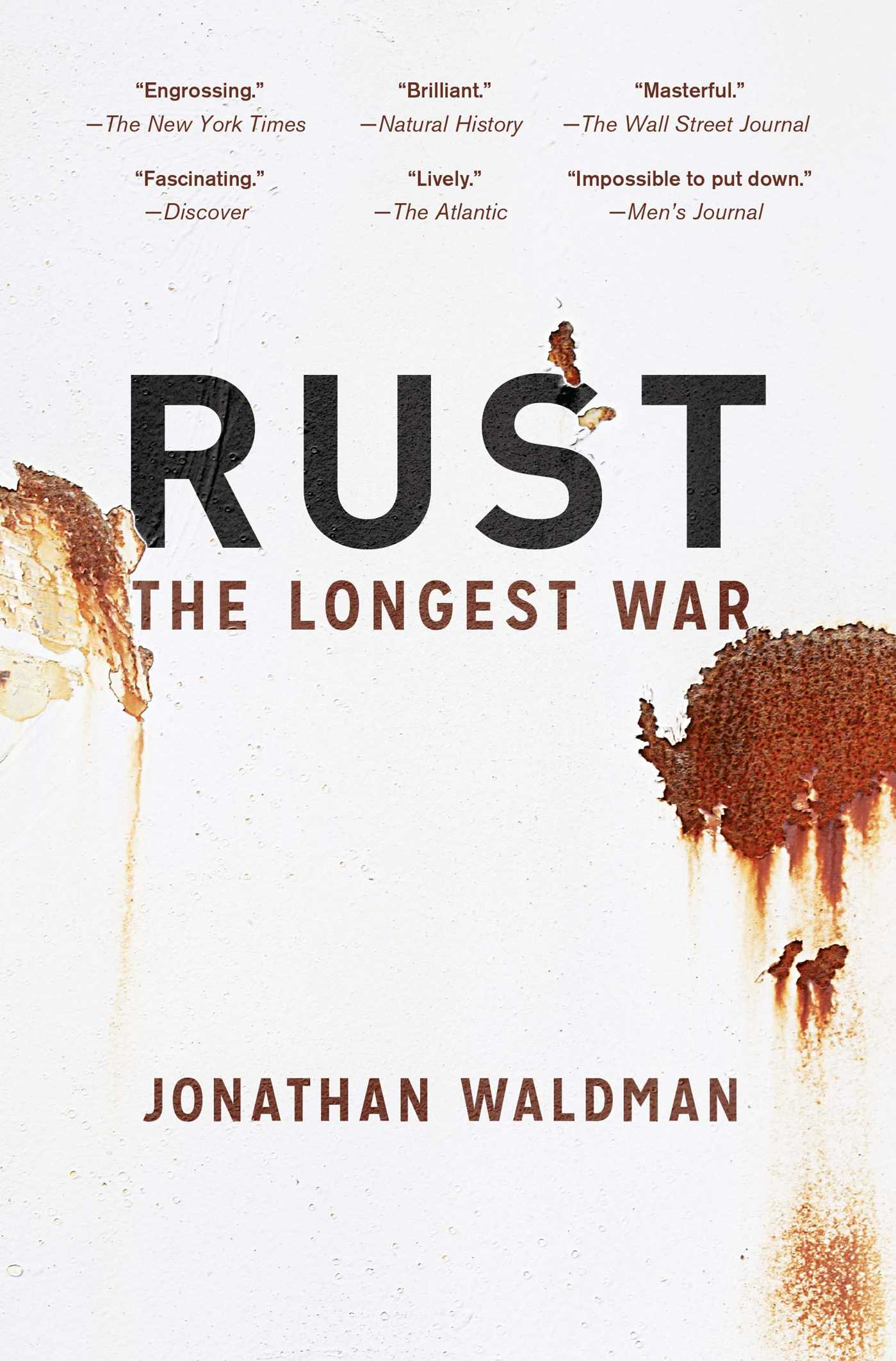 Rust | Book by Jonathan Waldman | Official Publisher Page