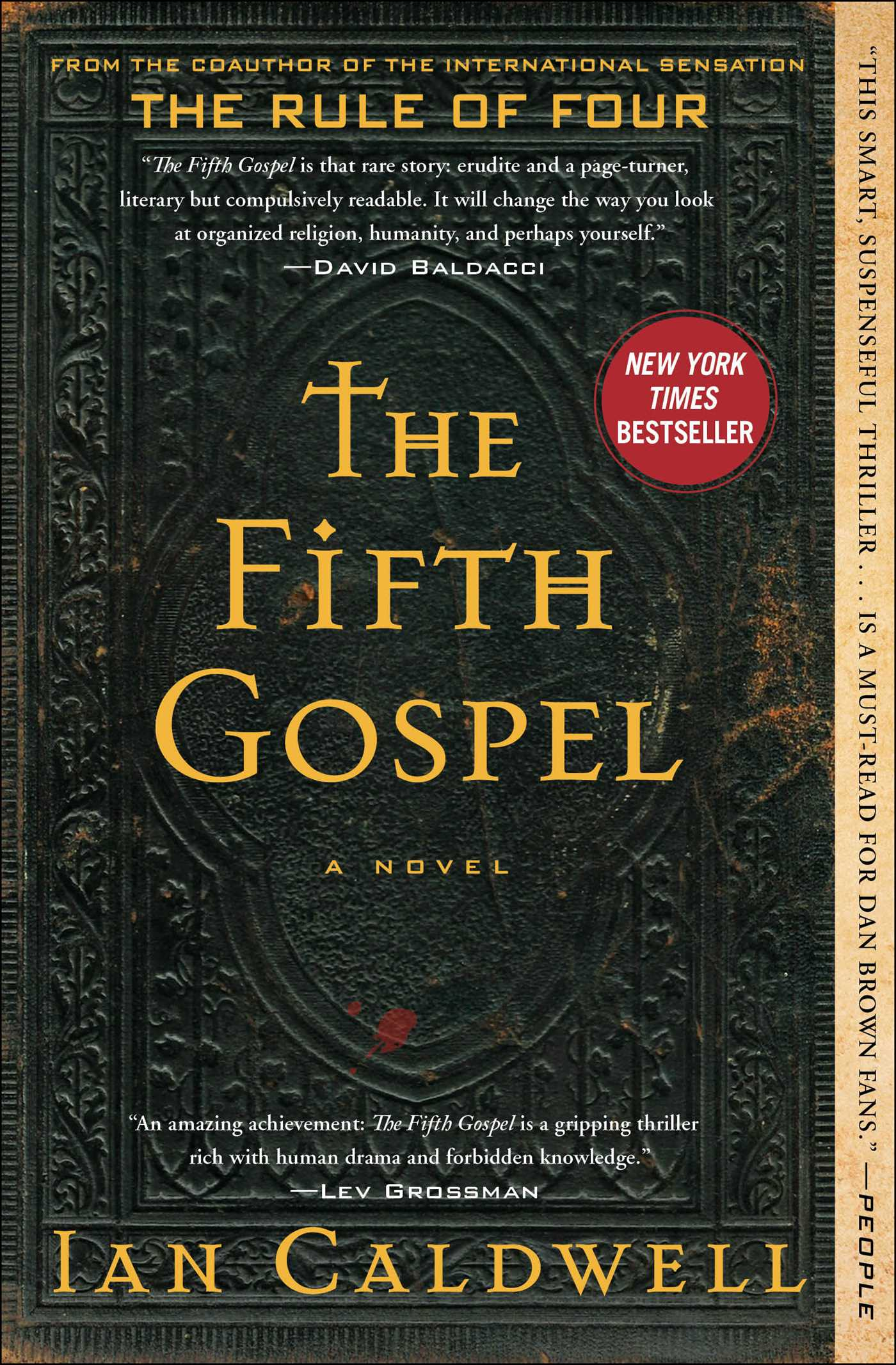 The Fifth Gospel Book By Ian Caldwell Official