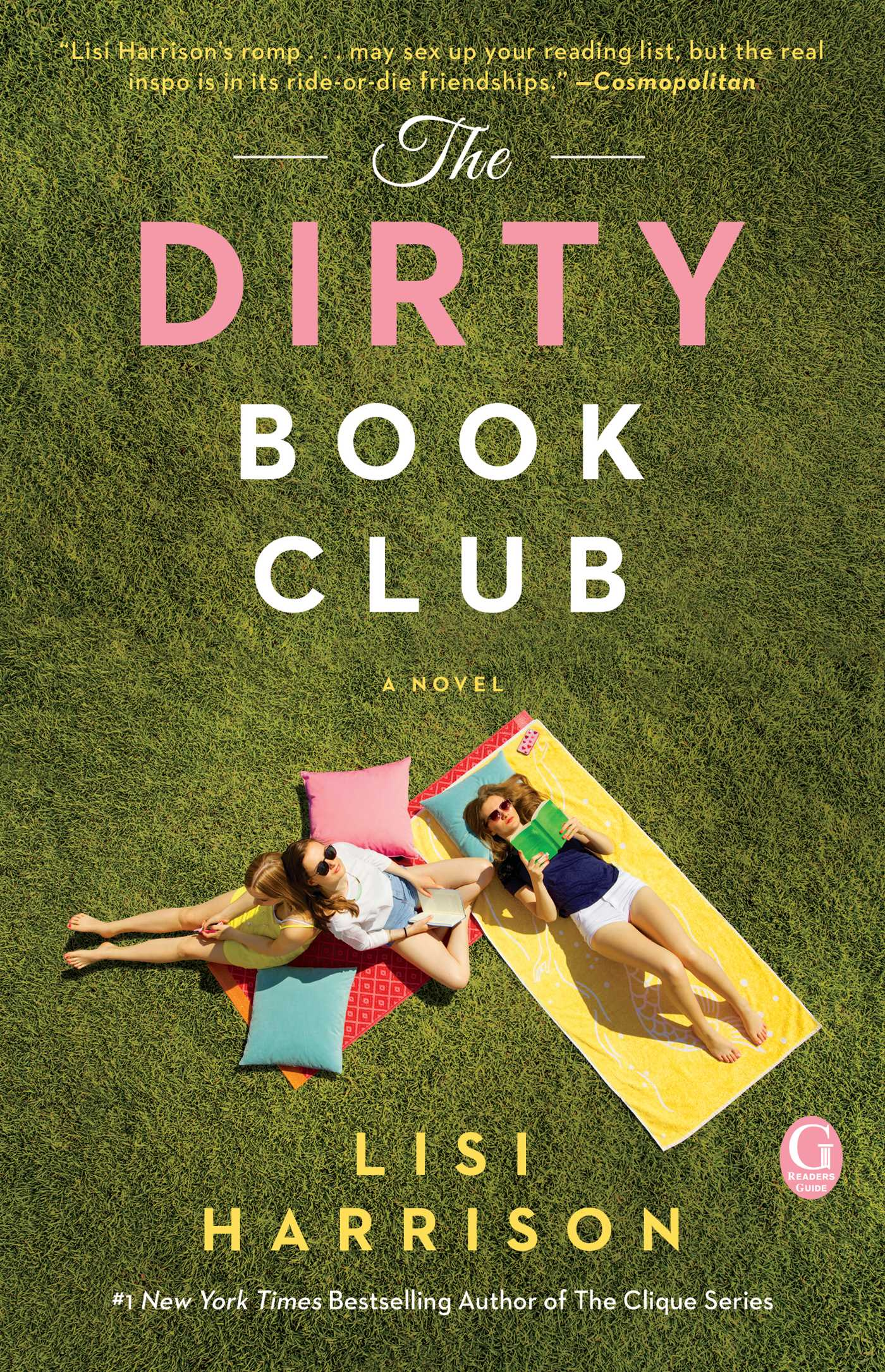 The Dirty Book Club Book by Lisi Harrison Official Publisher