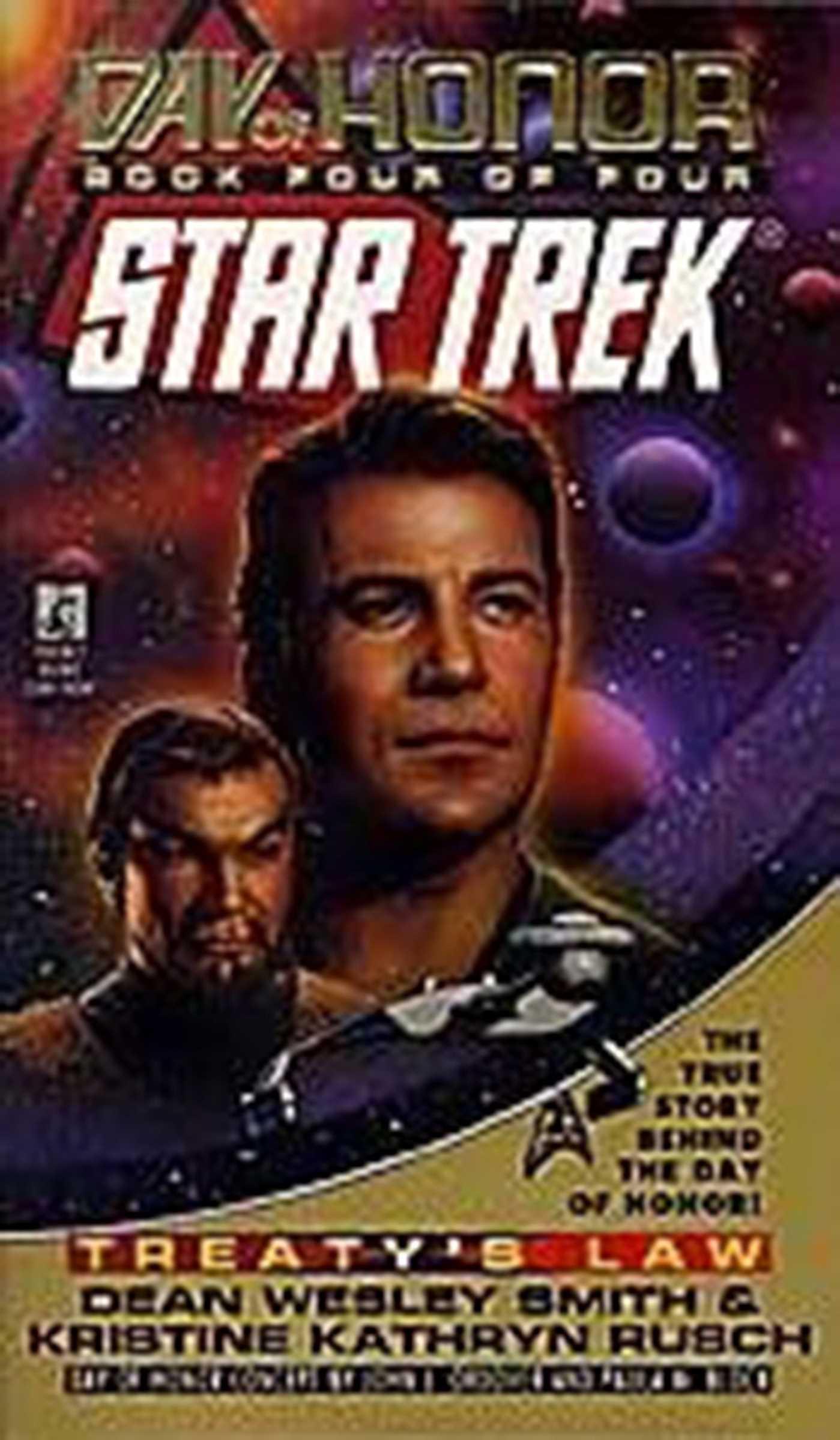 St Tos Day Of Honor #4 Treatys Law (Star Trek)