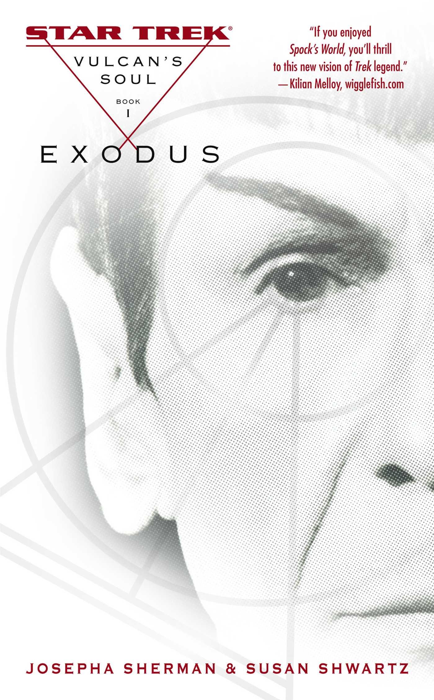 Vulcans soul exodus 9781471107146 hr
