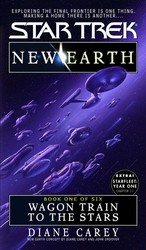 New Earth Book One:wagon Train To The Stars